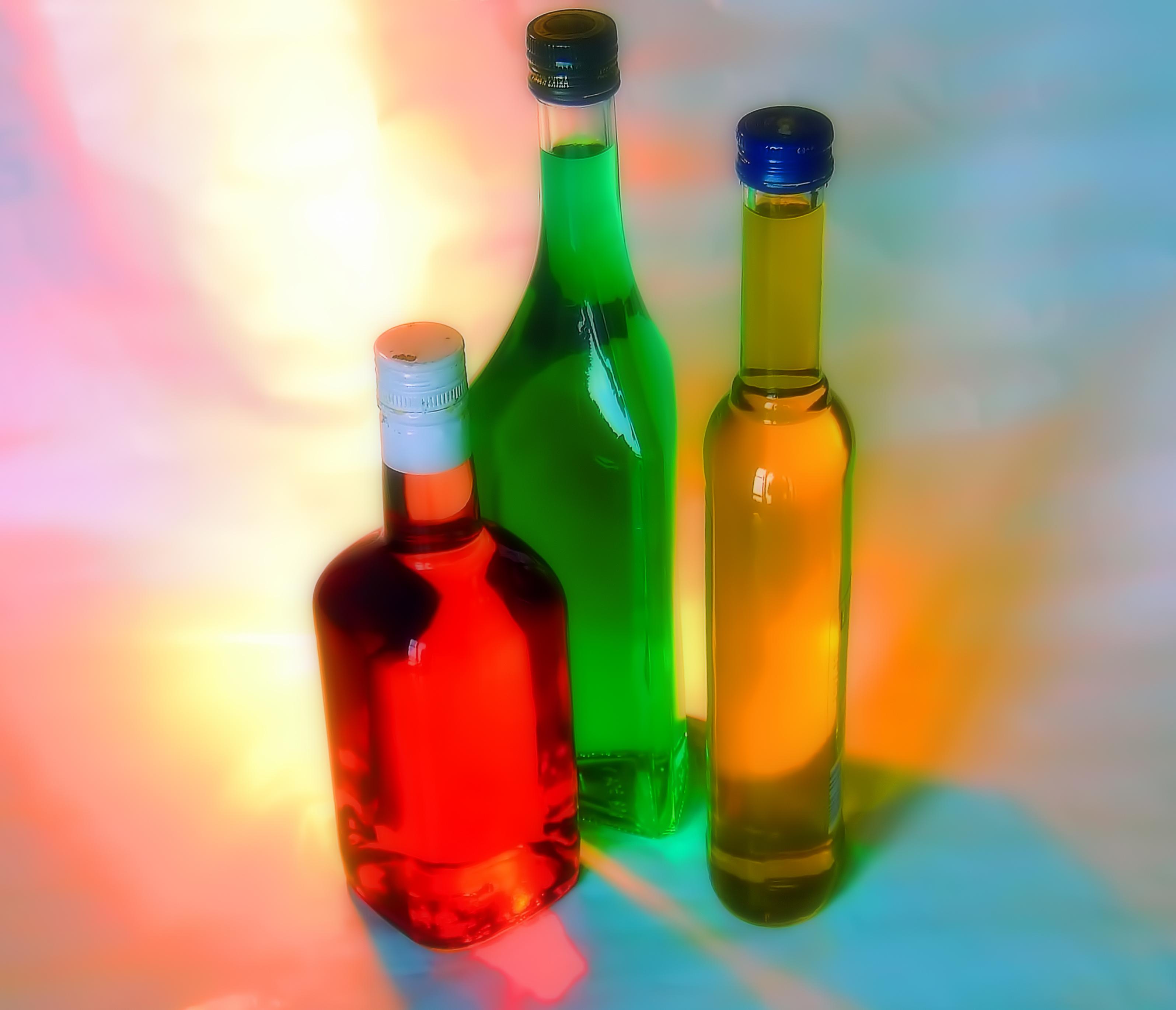 Wallpaper : bottles, red, green, yellow, drink, imagination, liquid ...