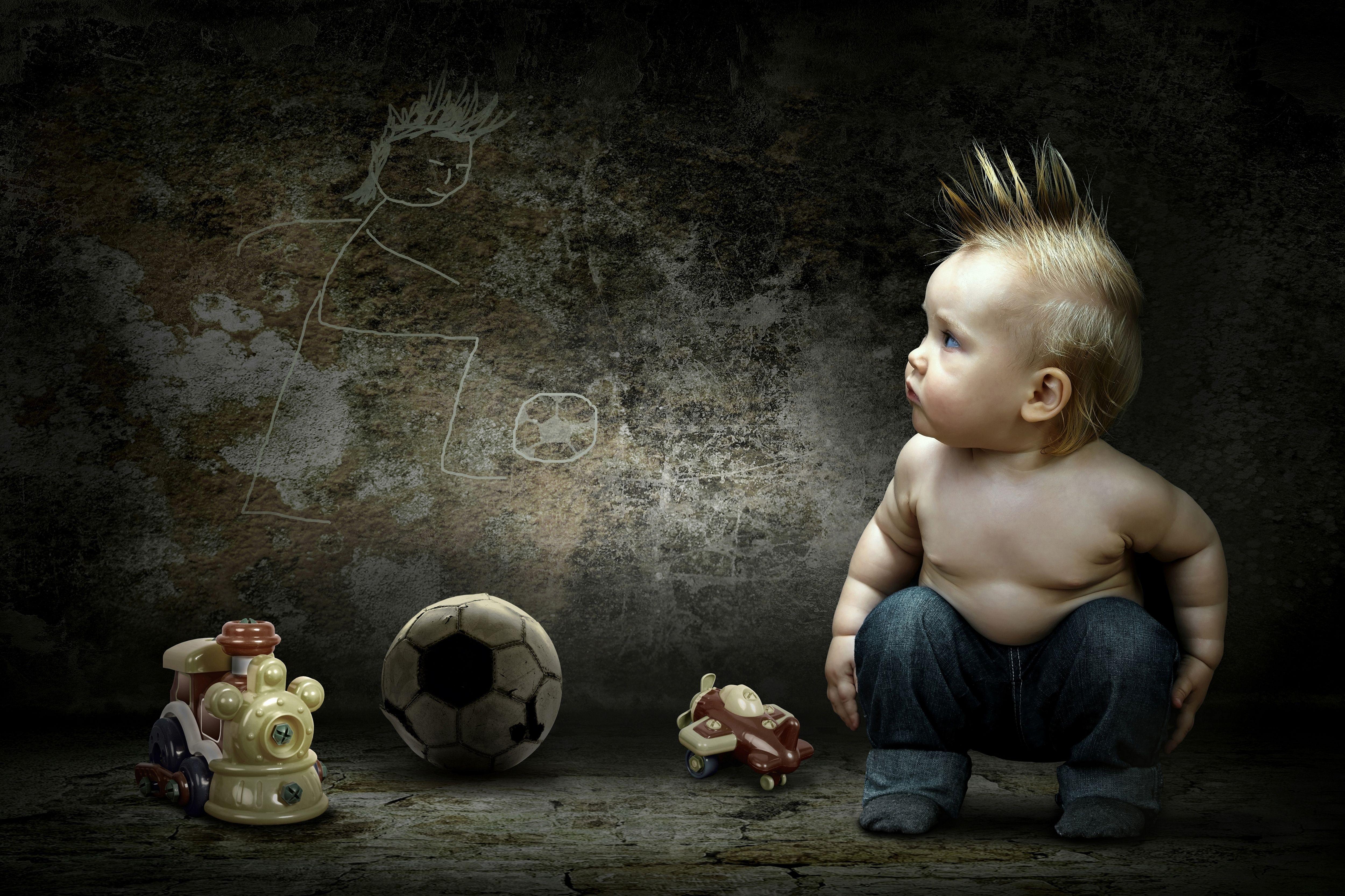 Fond D Ecran Garcon Enfant Mur Photo Jouets Ballon 5000x3333 1012079 Fond D Ecran Wallhere