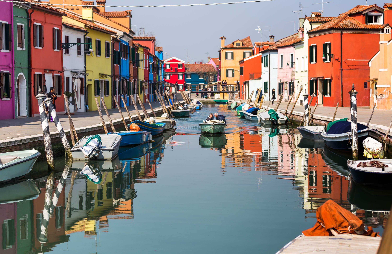Häuser Italien hintergrundbilder brücke venedig häuser fenster himmel