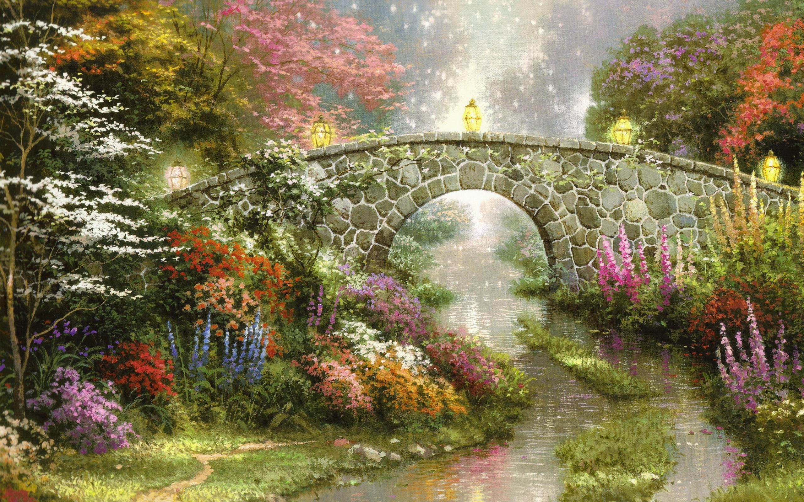 Картинки сказочных мостов