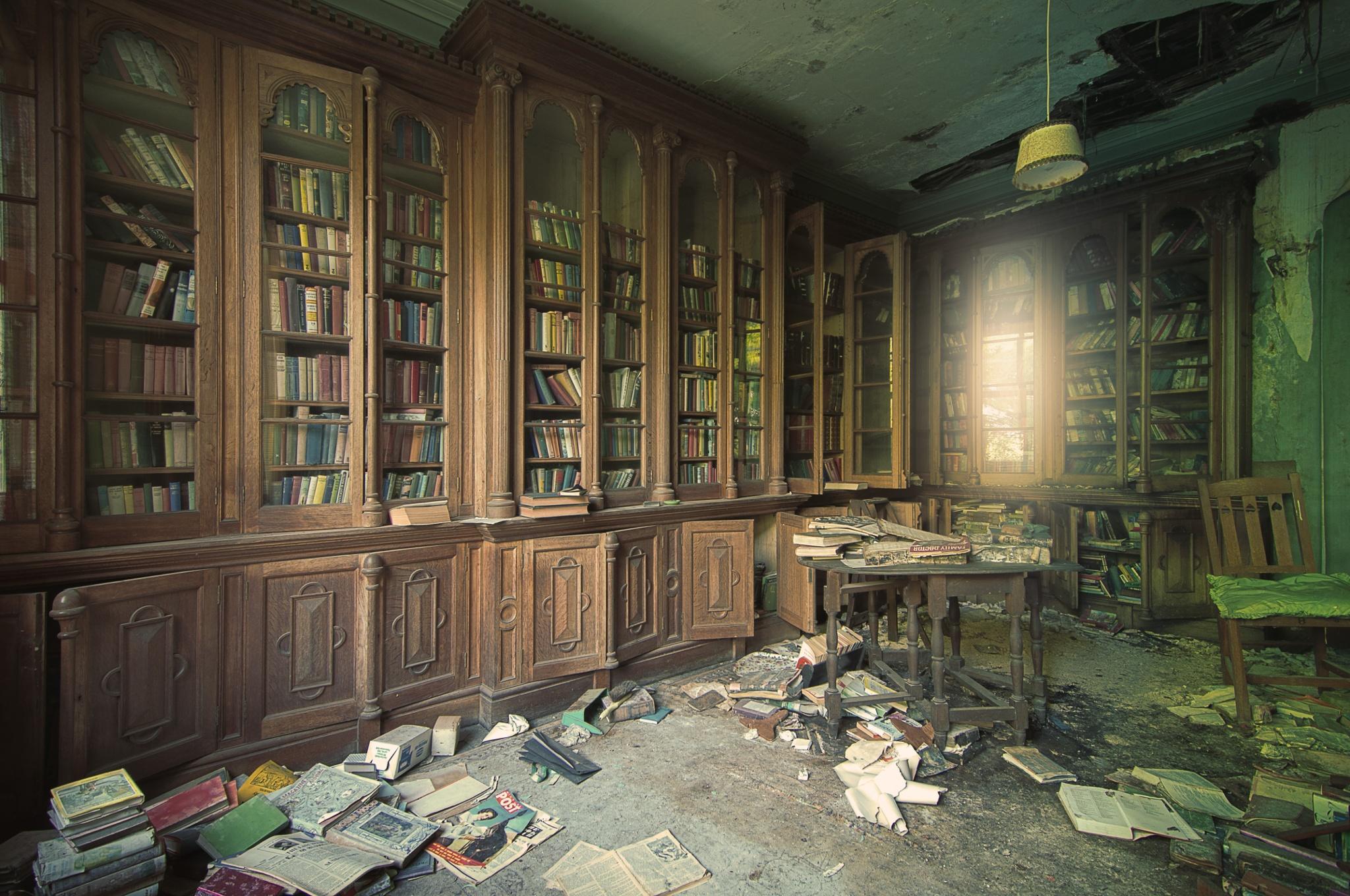 Wallpaper Building Abandoned Interior James Charlick