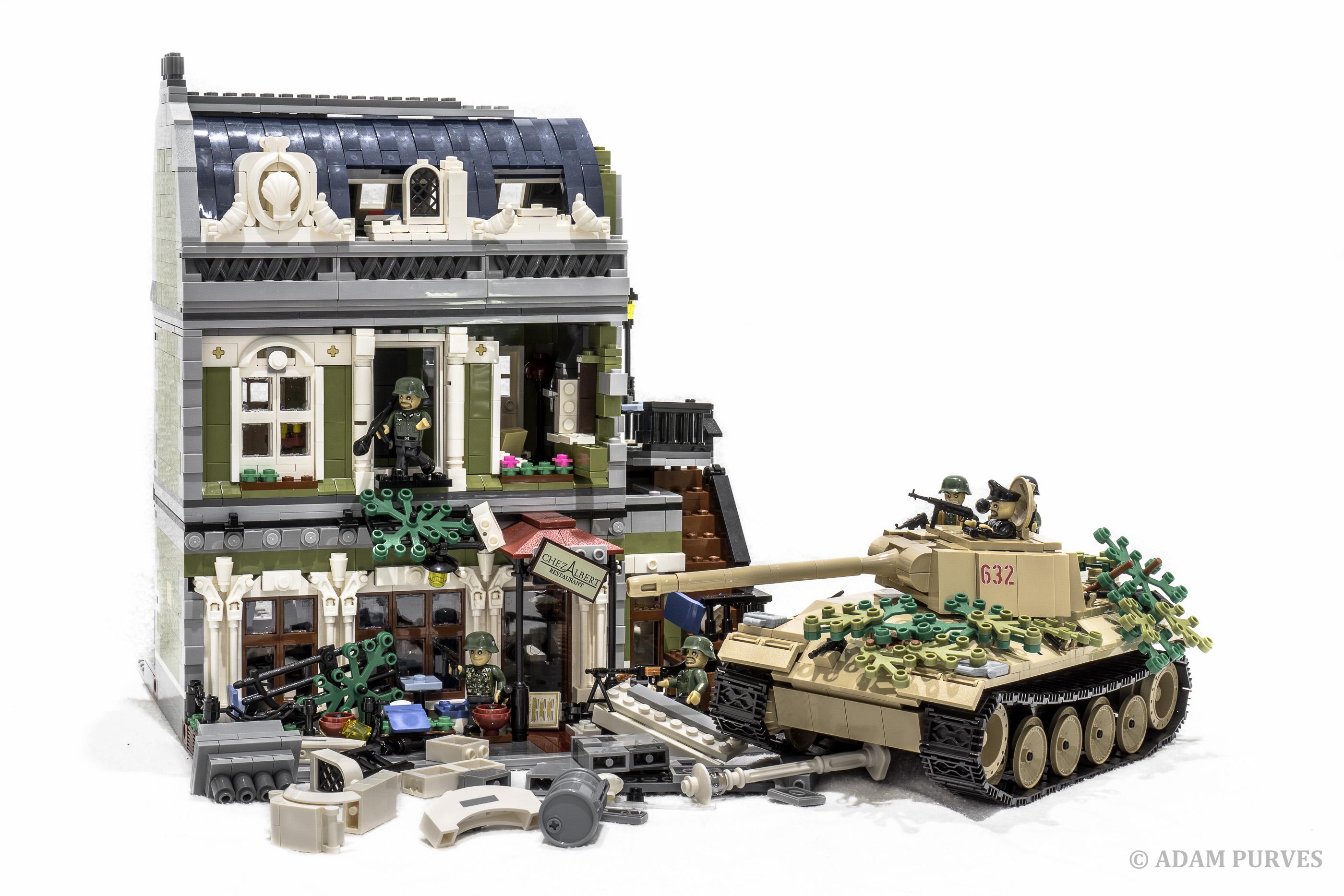 fond d 39 cran b timent briques r servoir lego histoire militaire france jouet allemand. Black Bedroom Furniture Sets. Home Design Ideas