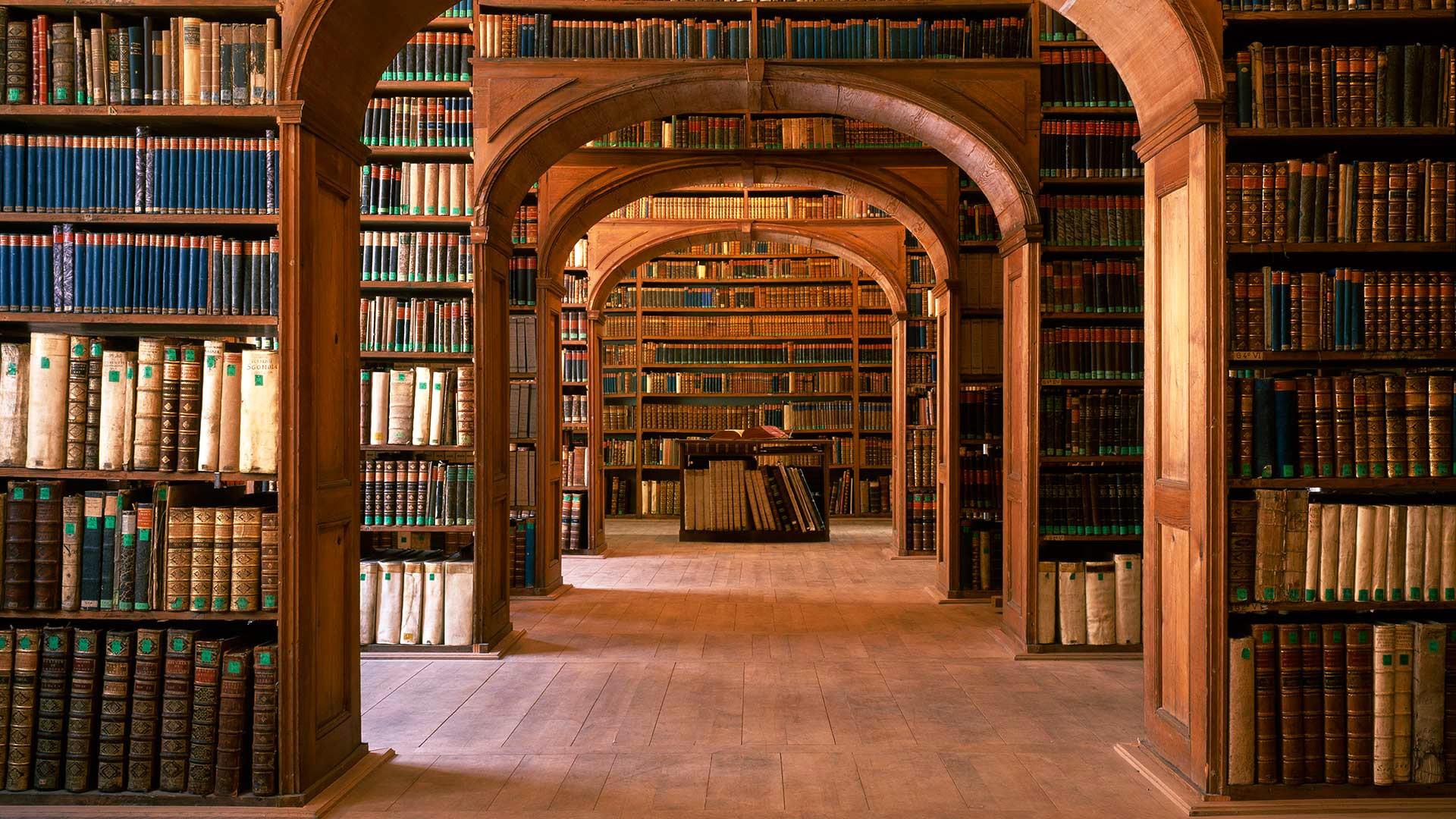 Fondos De Pantalla Edificio Interior Libros