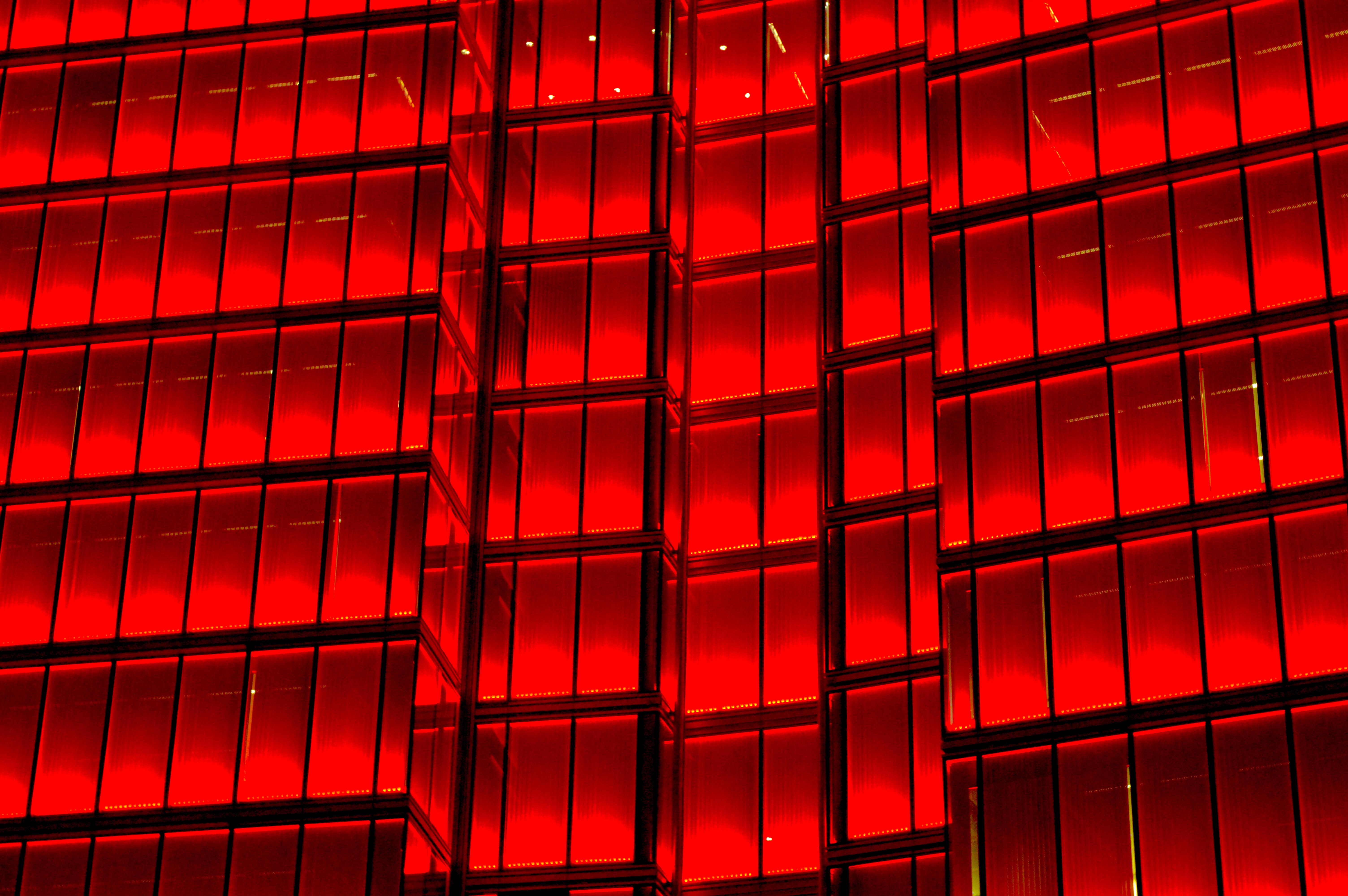 Wallpaper Building Red Symmetry Skyscraper Pattern Geometry