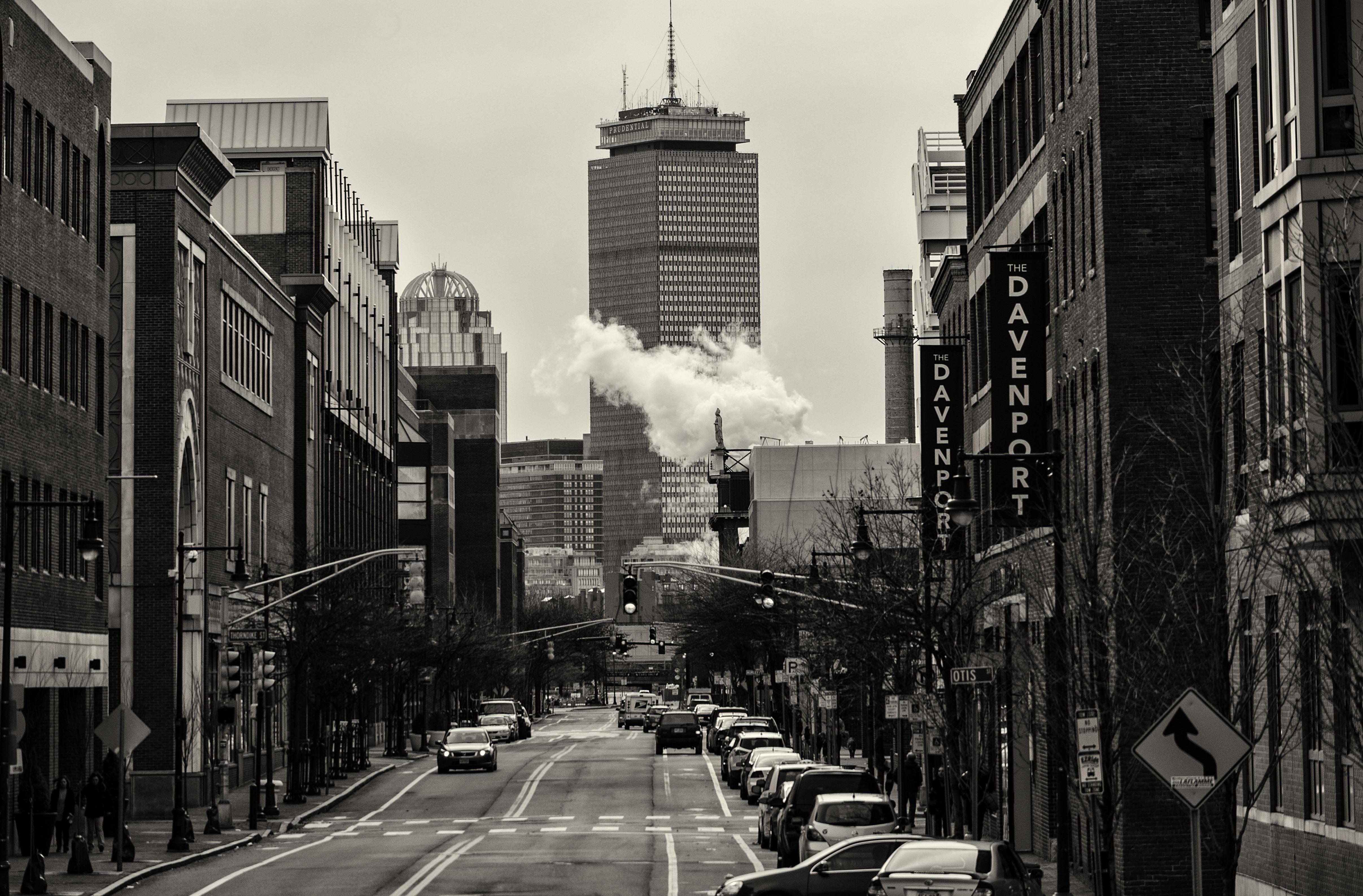 Wallpaper : cambridge, bw, Boston, MA