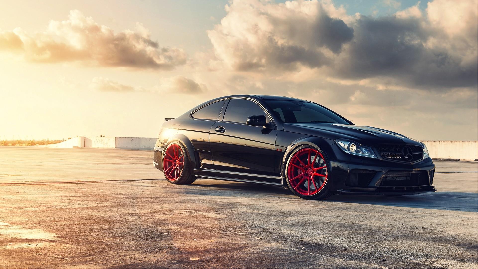Wallpaper : BMW, Mercedes Benz, sports car, Convertible, performance car, Sedan, C63 AMG, wheel ...