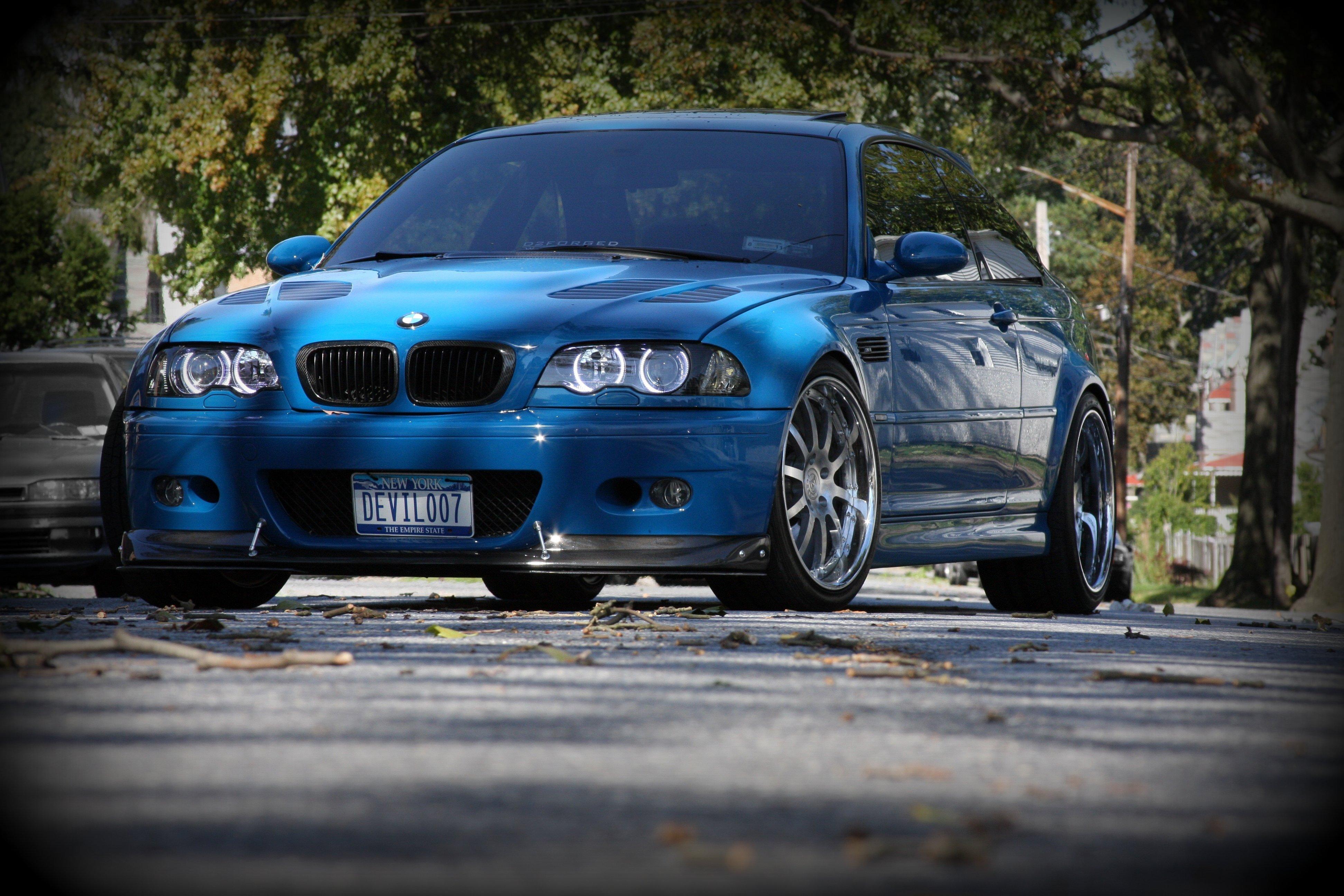 Sfondi Blu E46 Auto Sportiva Bmw M3 Coupe Convertibile