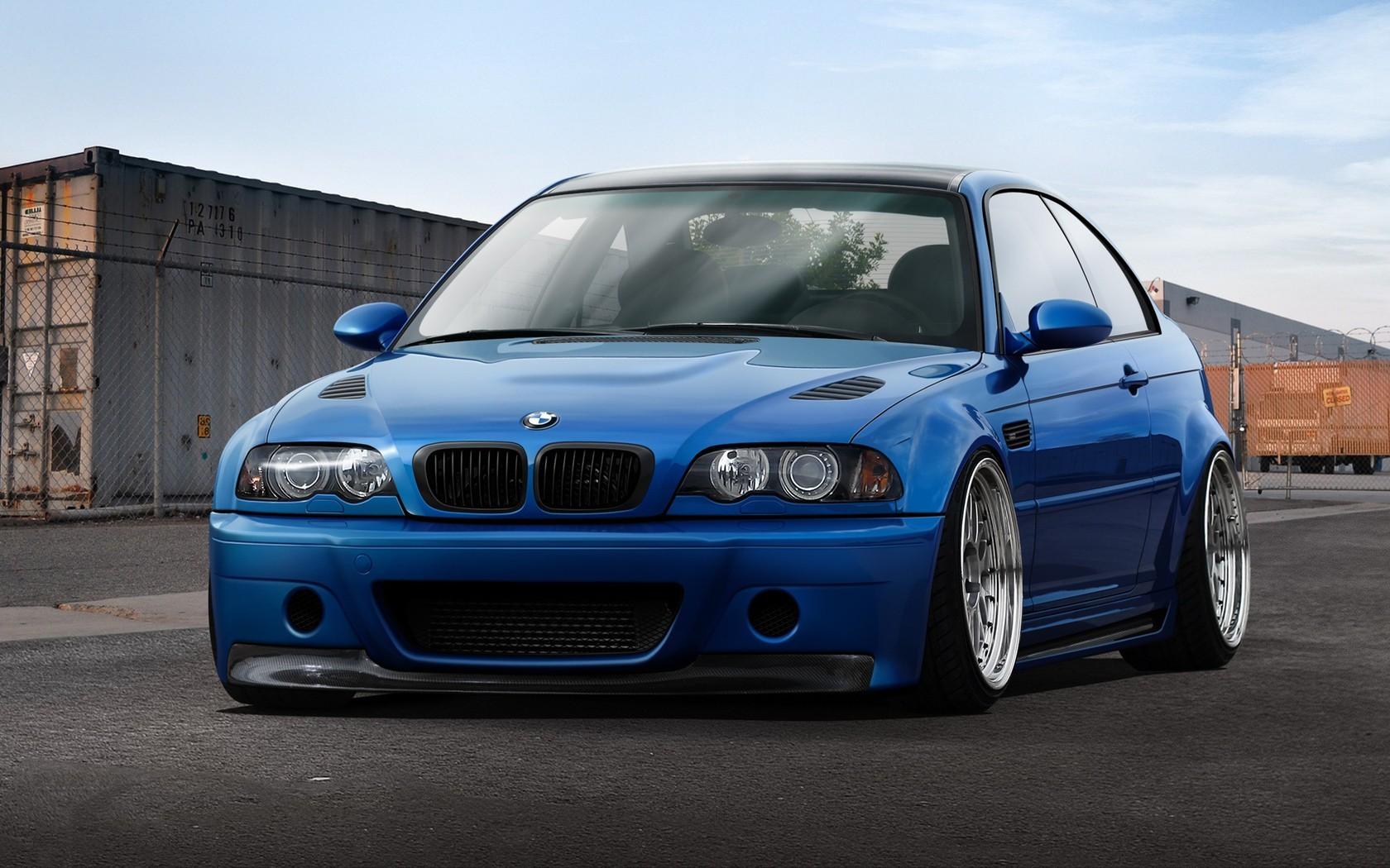 Sfondi Auto Blu Auto Sportiva Bmw M3 Bmw E46 Coupe