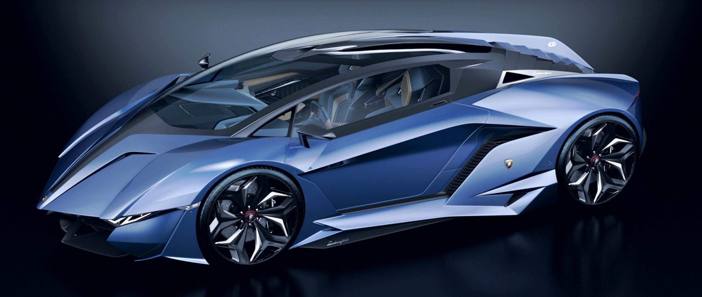 Wallpaper Concept Cars Sports Car Lamborghini Reventon