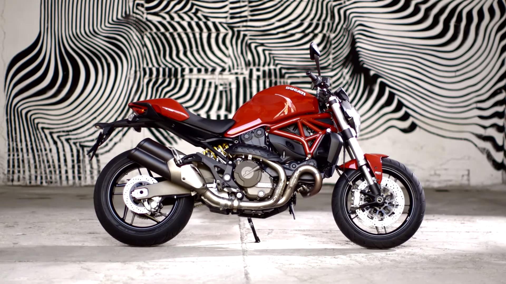 Wallpaper Car Motorcycle Motorcyclist Ducati Monster 821