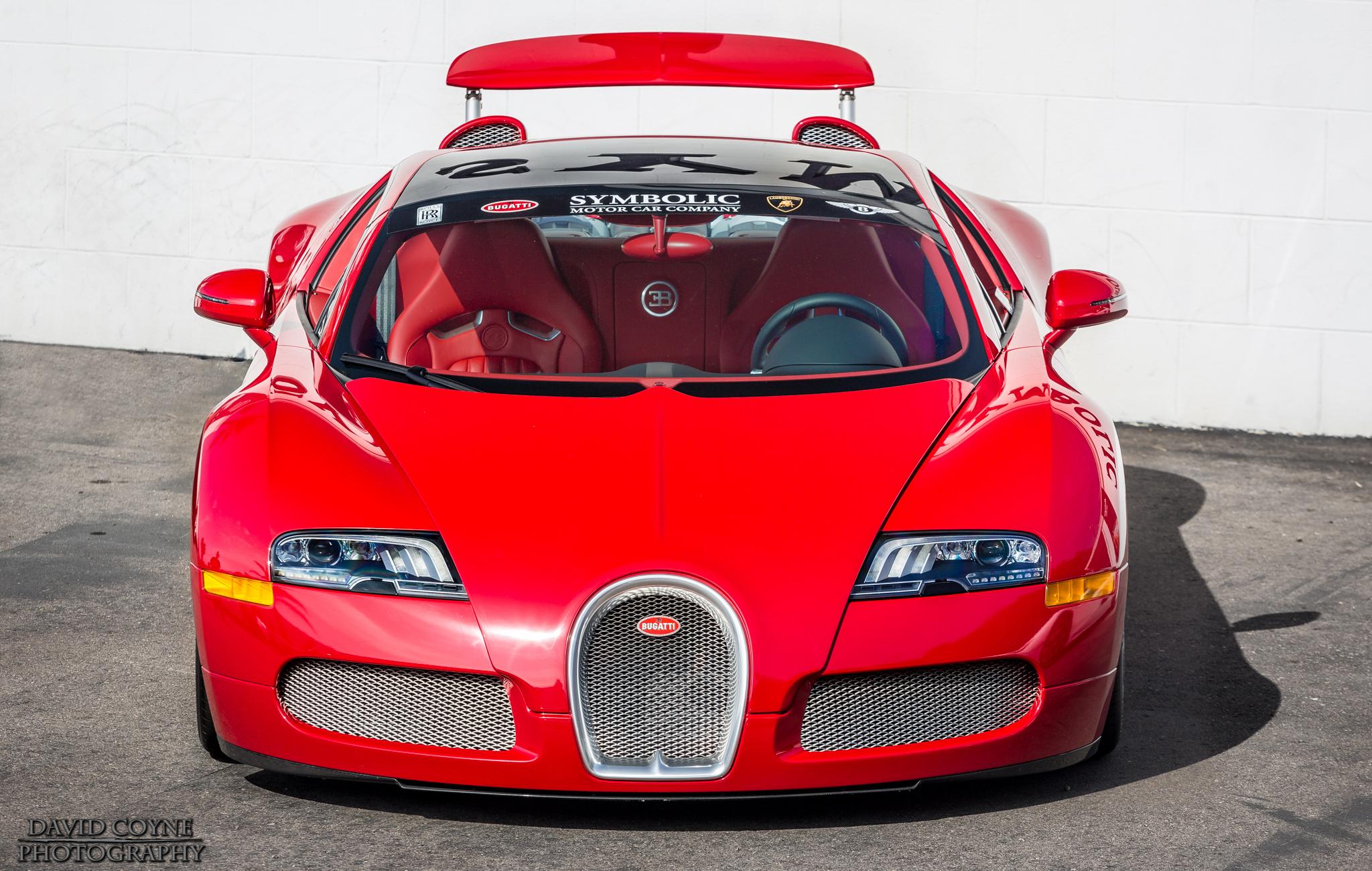 Wallpaper Red Canon California Sports Car Drive Bugatti