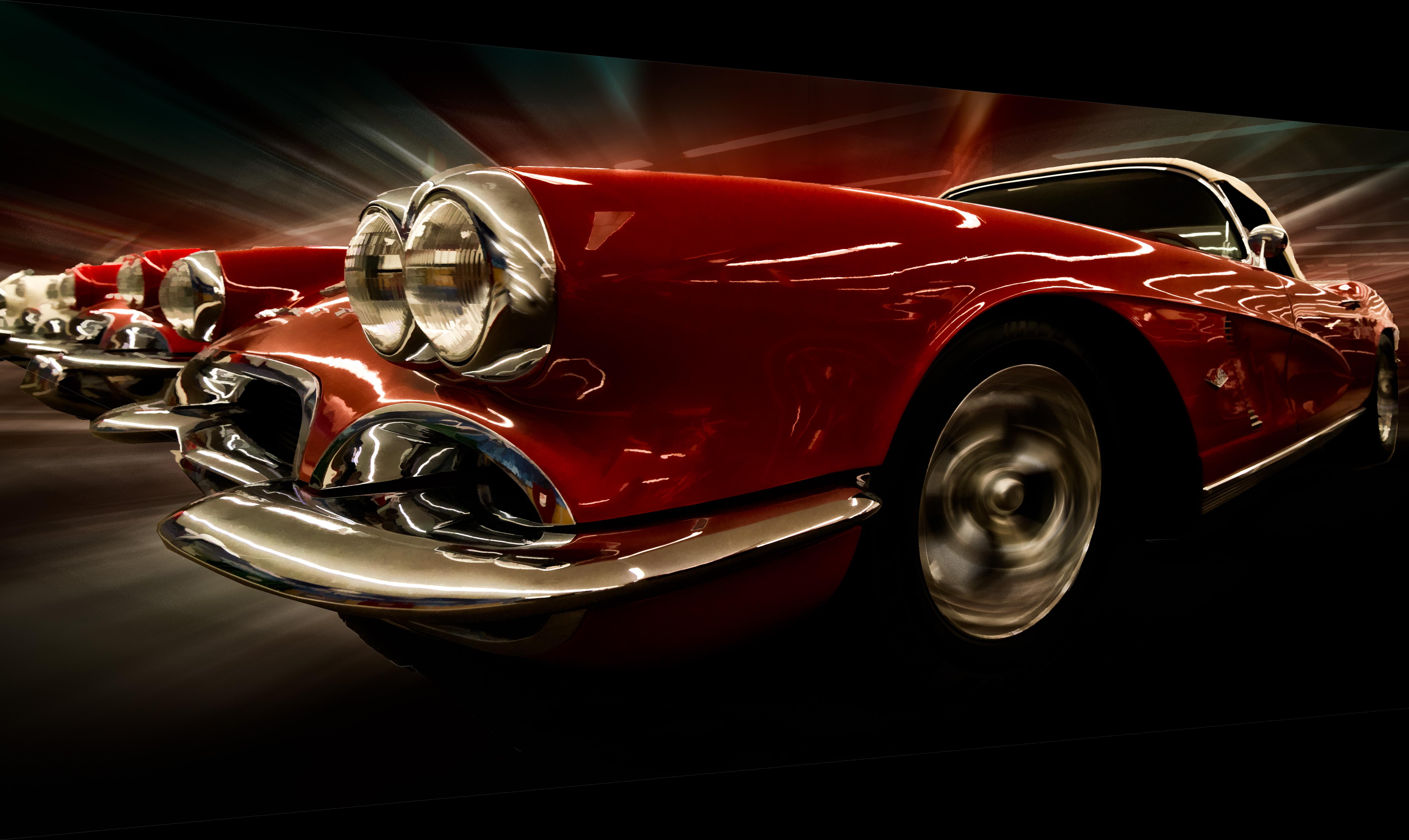 Wallpaper : Red, Sports Car, Vintage Car, Classic Car