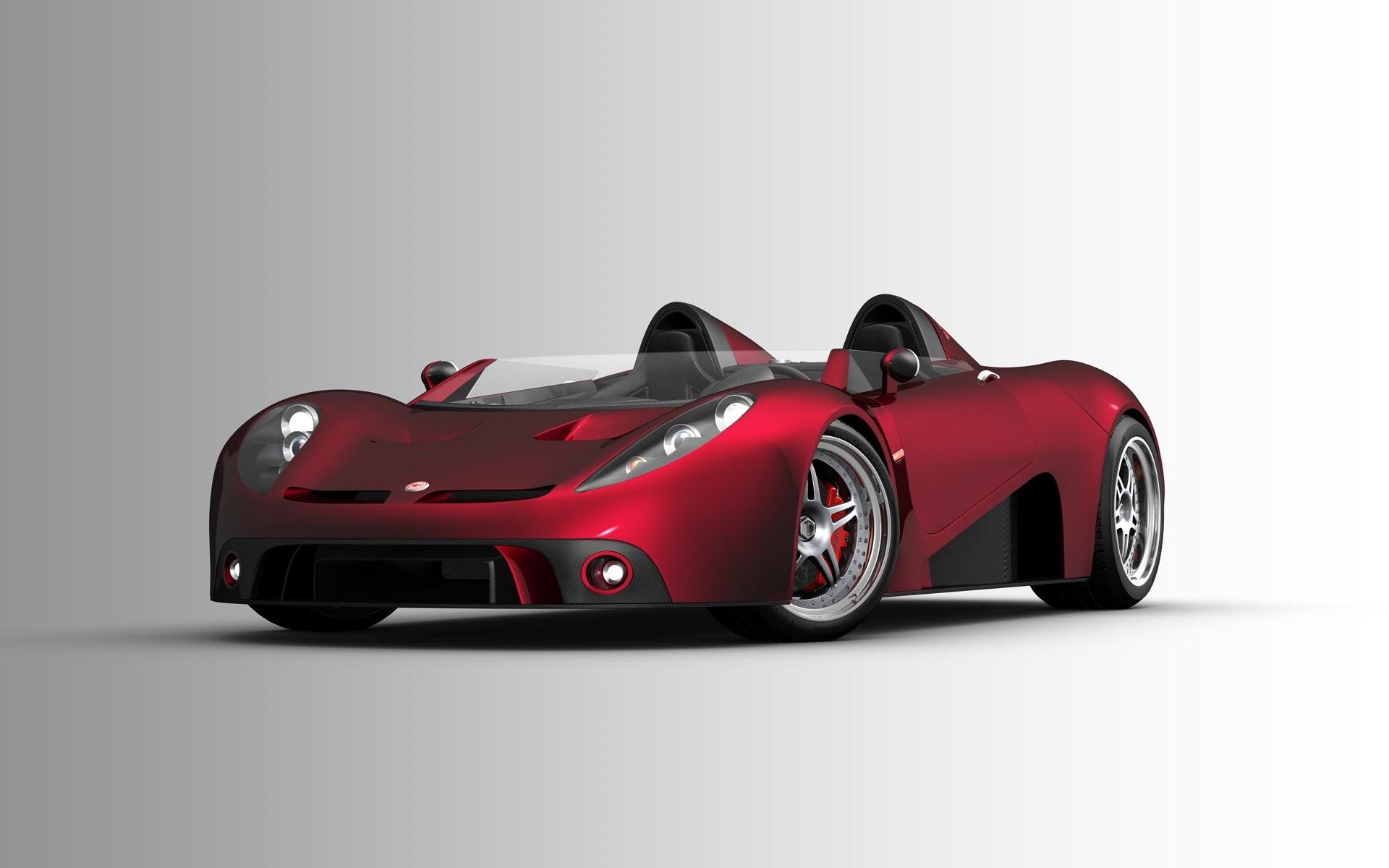 Wallpaper Red Sports Car Brand Performance Car
