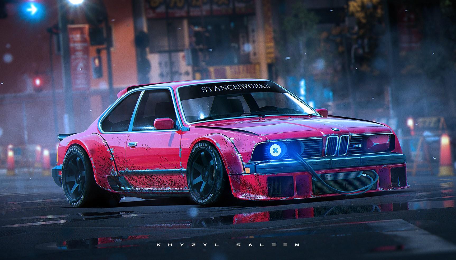 wallpaper render artwork sports car stanceworks khyzyl saleem