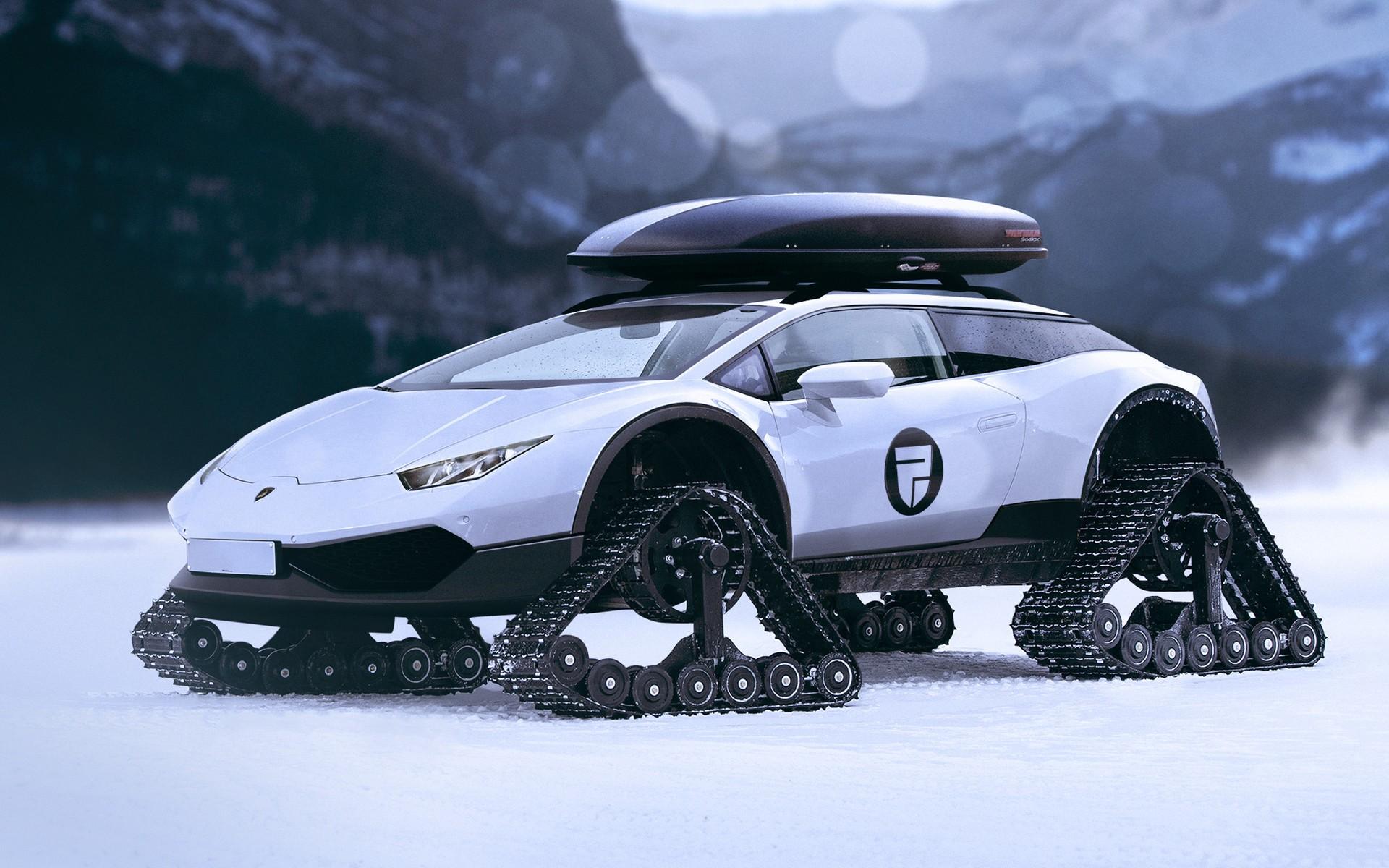 hintergrundbilder schnee konzept autos fahrzeug sportwagen wei e autos lamborghini. Black Bedroom Furniture Sets. Home Design Ideas