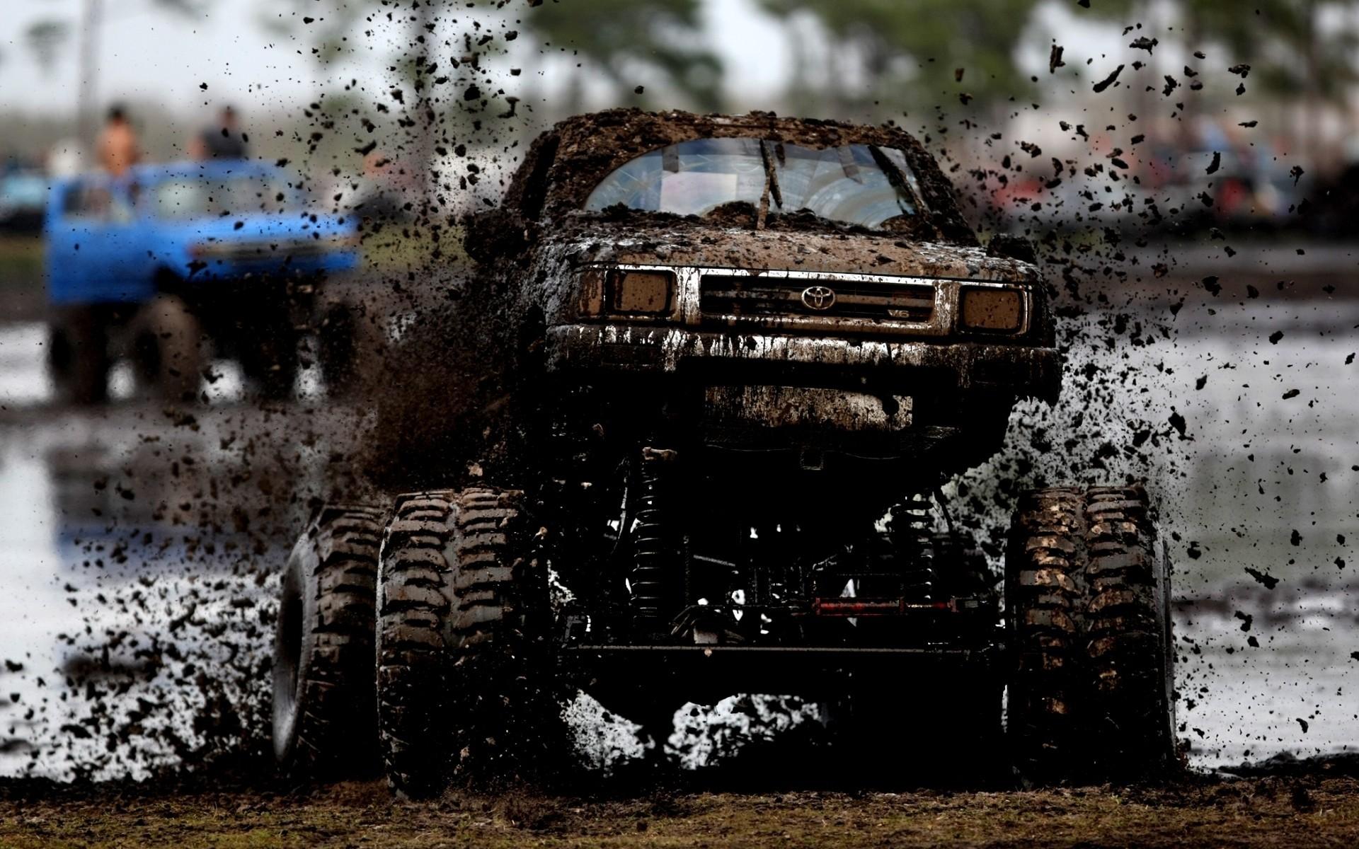 car snow vehicle mud Toyota trucks offroad Jeep material screenshot automobile make auto racing off roading off road vehicle monster truck 158651
