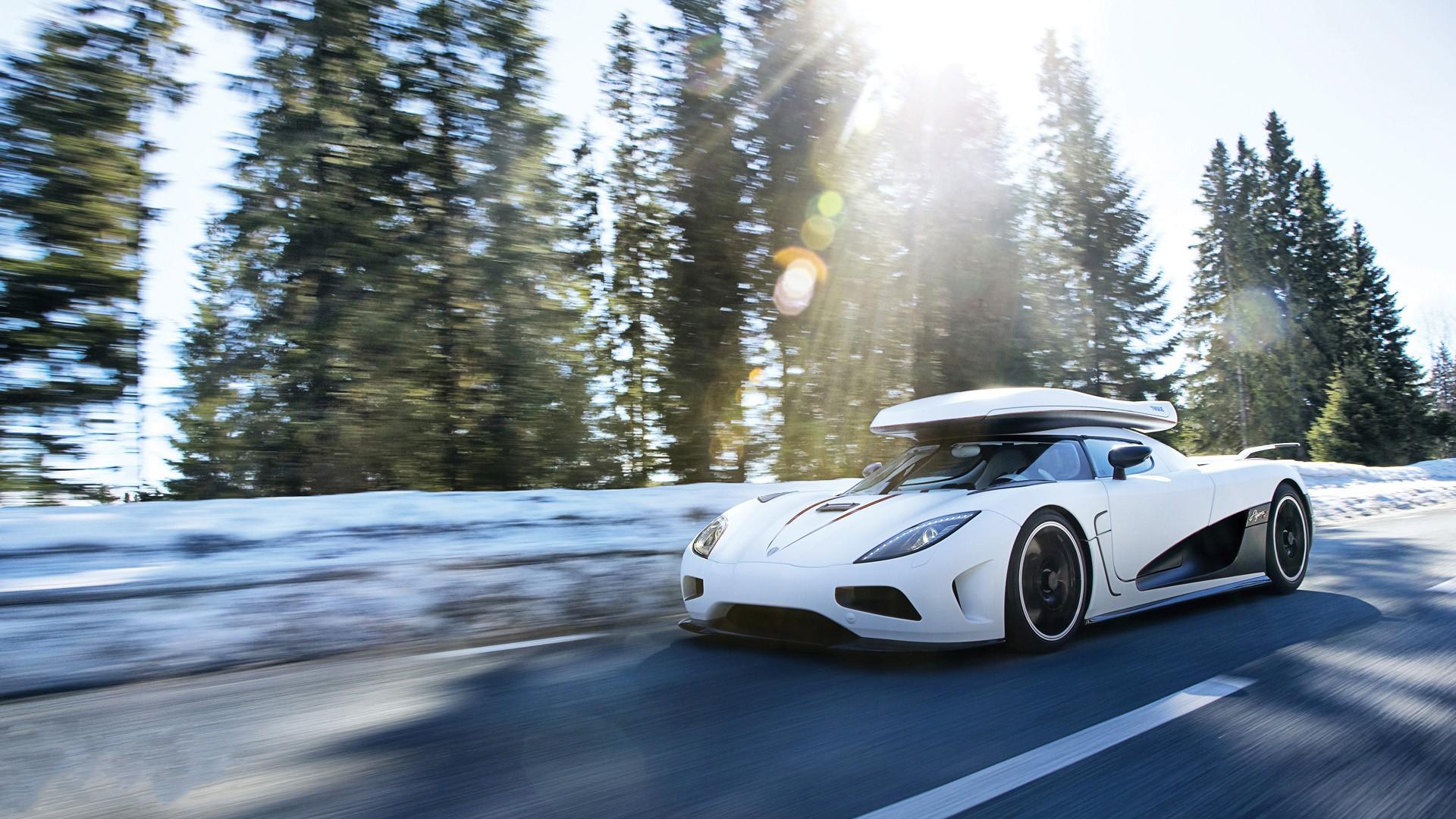 Car Snow Vehicle Sports Car Koenigsegg Agera R Koenigsegg Performance Car  Supercar Land Vehicle Automotive Design