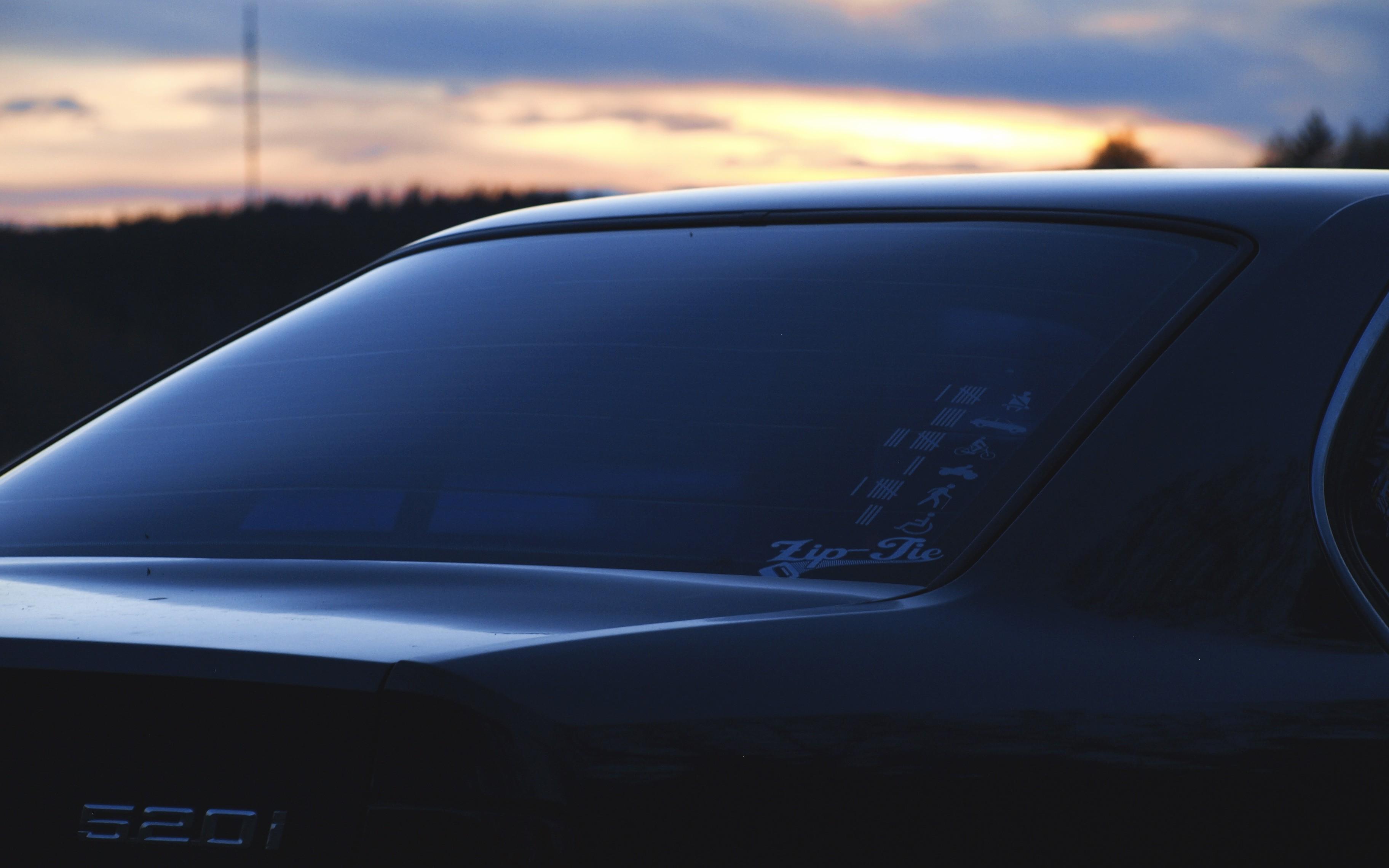 Wallpaper Car Vehicle Bmw E34 Bmw E34 535i Sunset