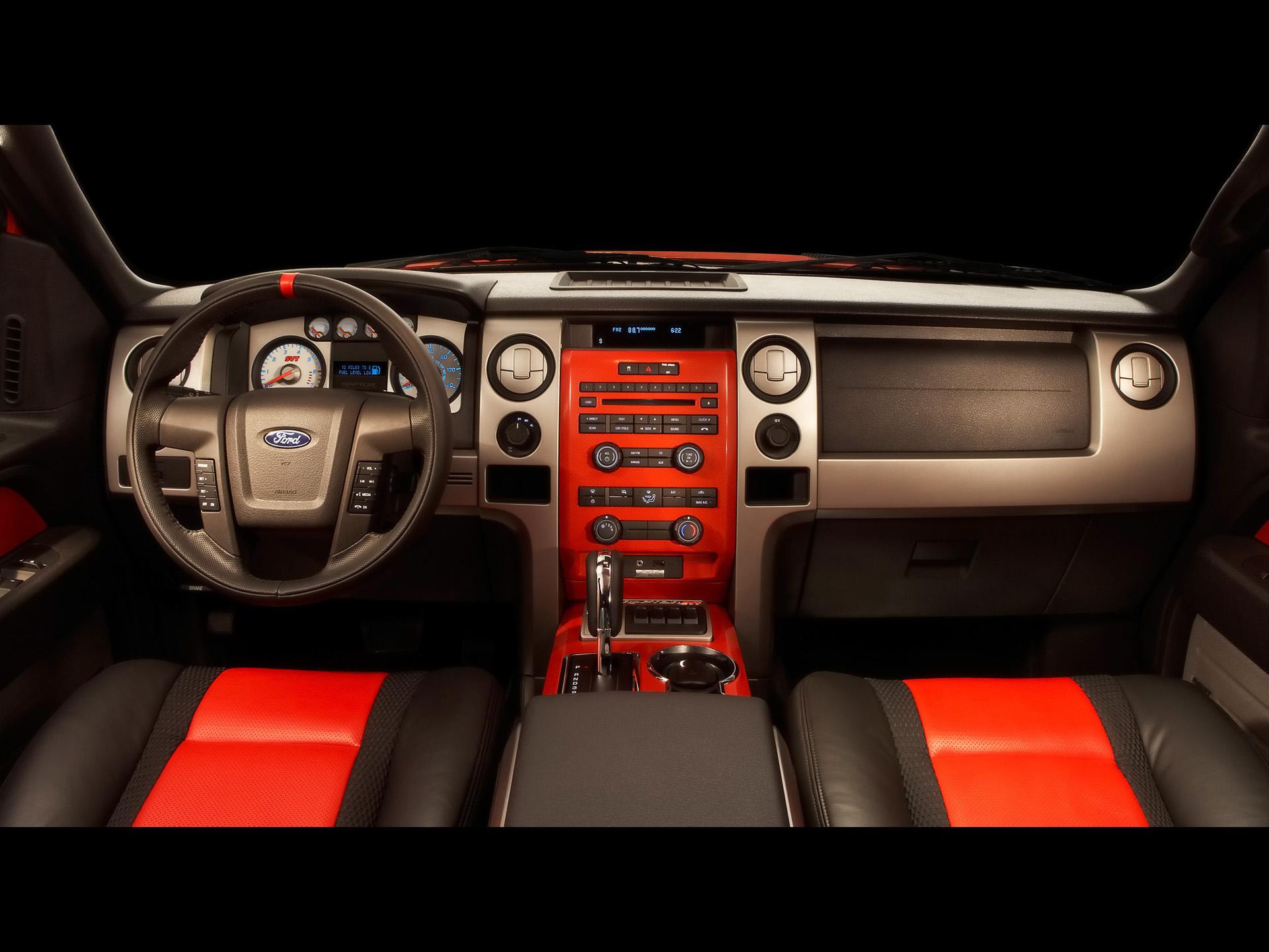 форд раптор салон #9
