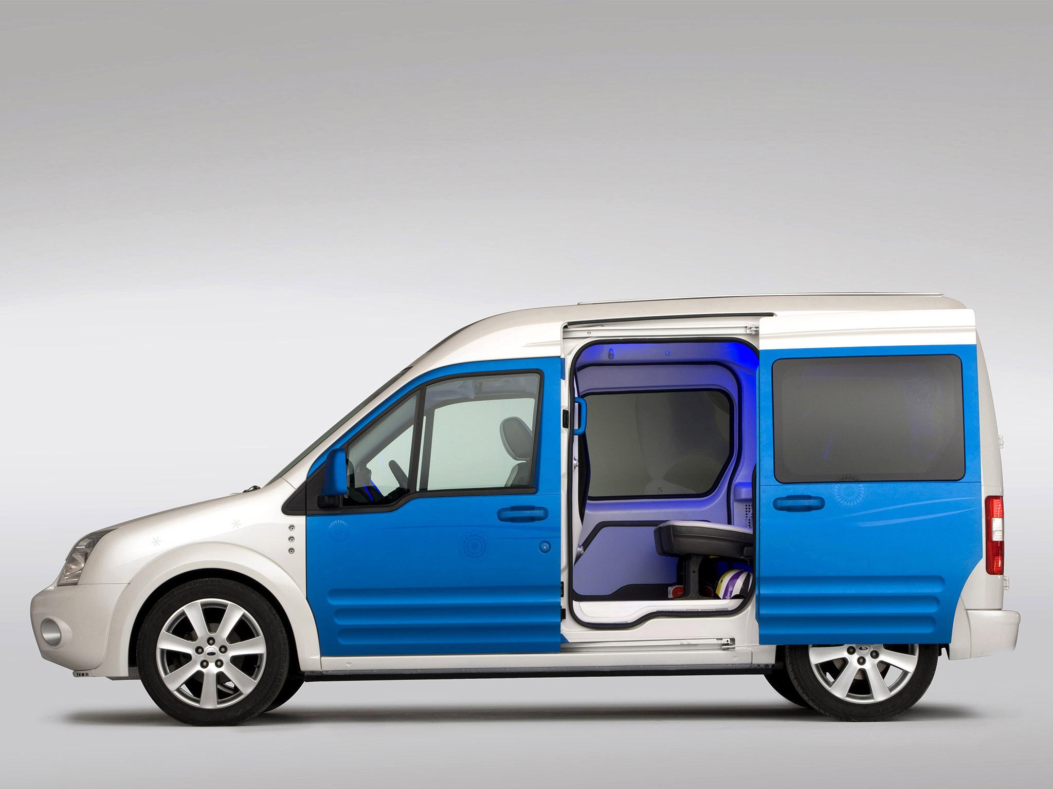 ford transit l3h3 3d модель step #2