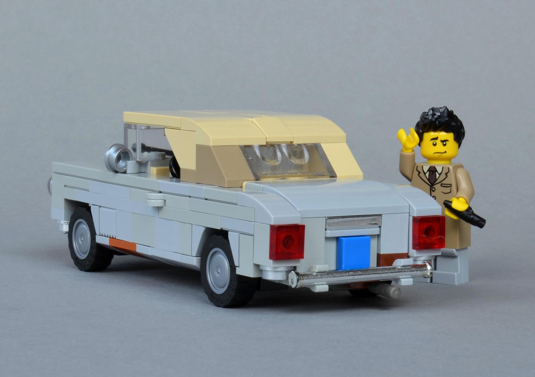 Sfondi Lego Francese Modellino In Scala Cabrio Auto Depoca