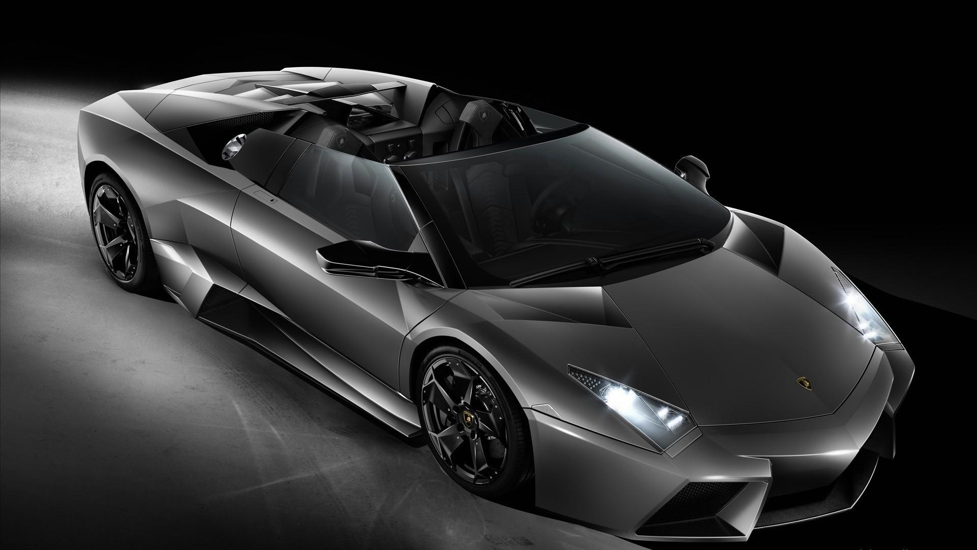 Car Vehicle Lamborghini Aventador Super Sports Silver Cars Performance Reventon Wheel