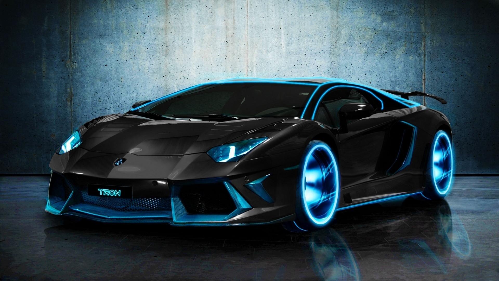 Wallpaper Lamborghini Aventador Black Cars Sports Car