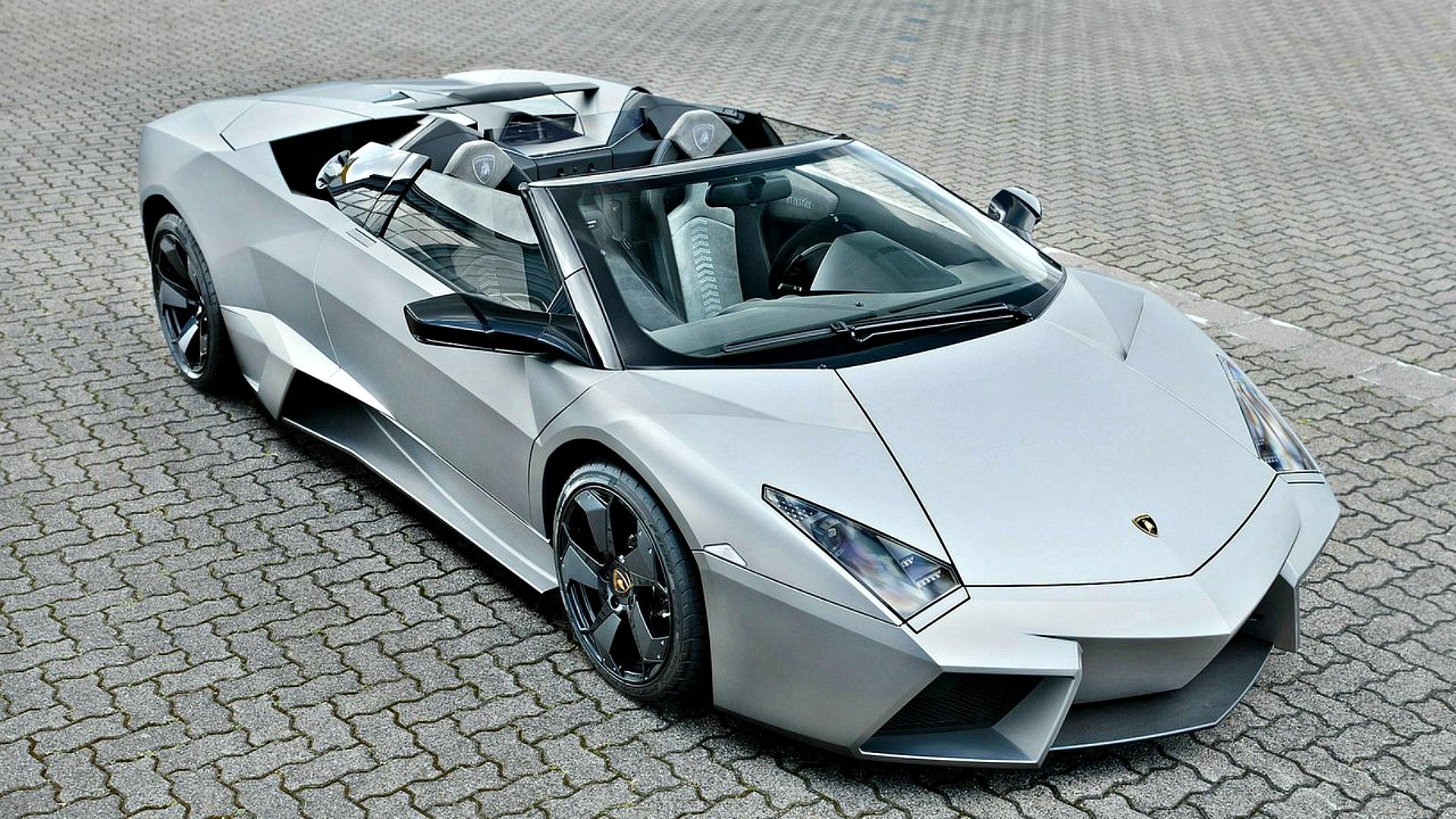Wallpaper Lamborghini Aventador Side View Sports Car