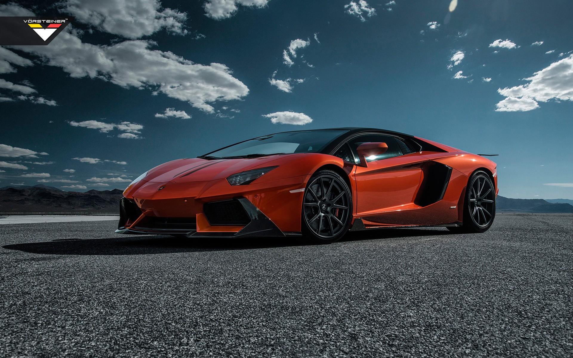 Wallpaper Lamborghini Aventador Sports Car Performance Car