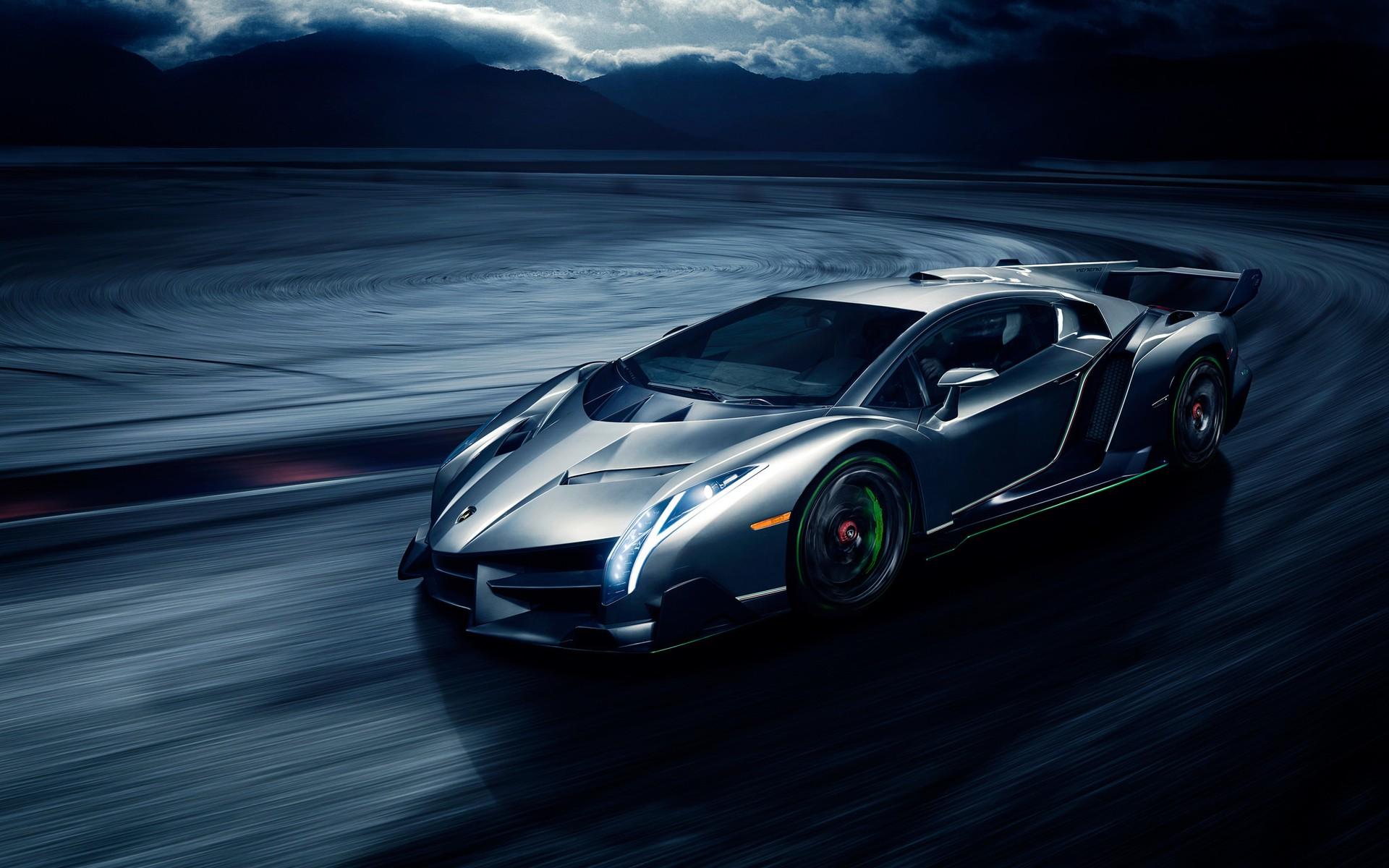 wallpaper : super car, sports car, lamborghini veneno, performance