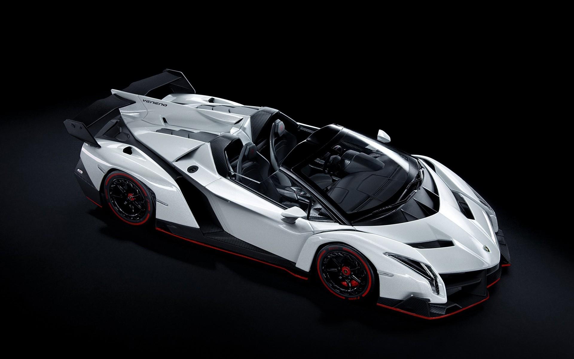 wallpaper : sports car, white cars, luxury cars, lamborghini veneno