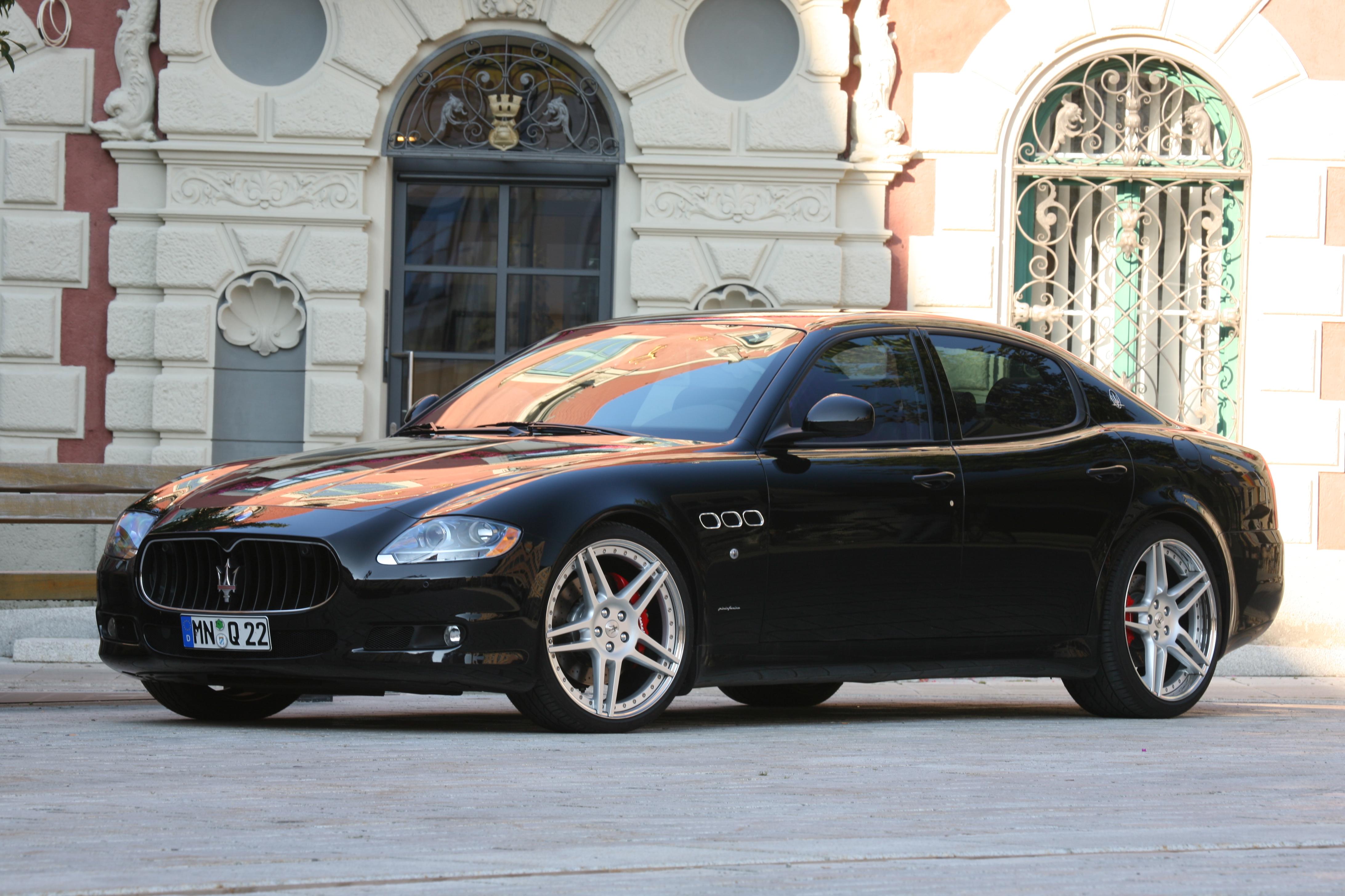 Wallpaper Performance Car Sedan Maserati Granturismo 2012