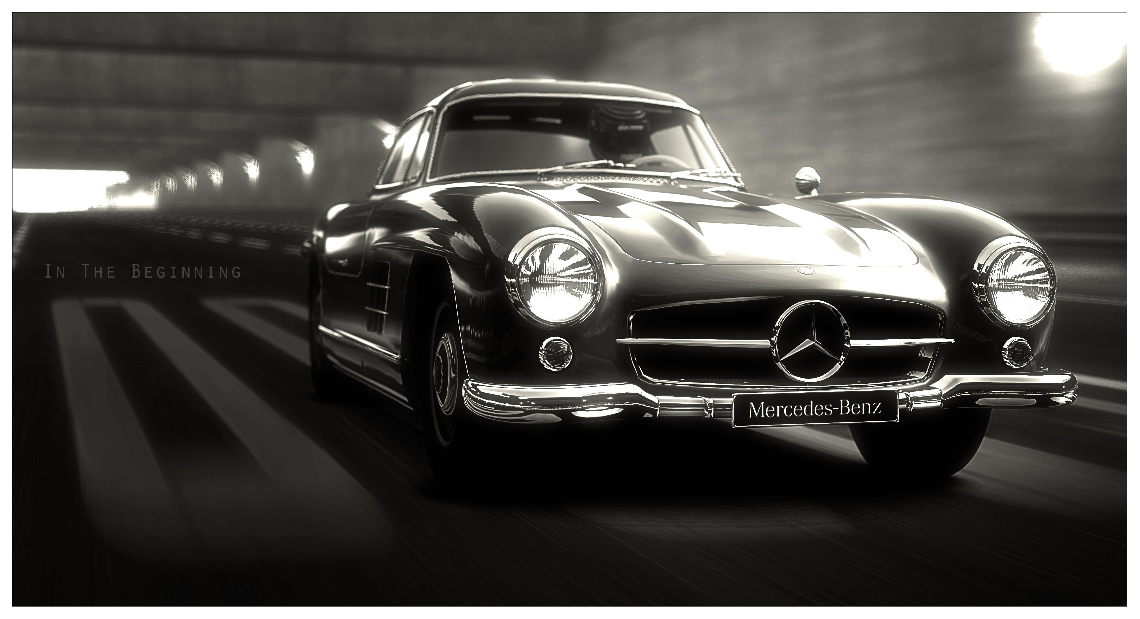 Wallpaper : Mercedes Benz, sports car, brand, classic car ...