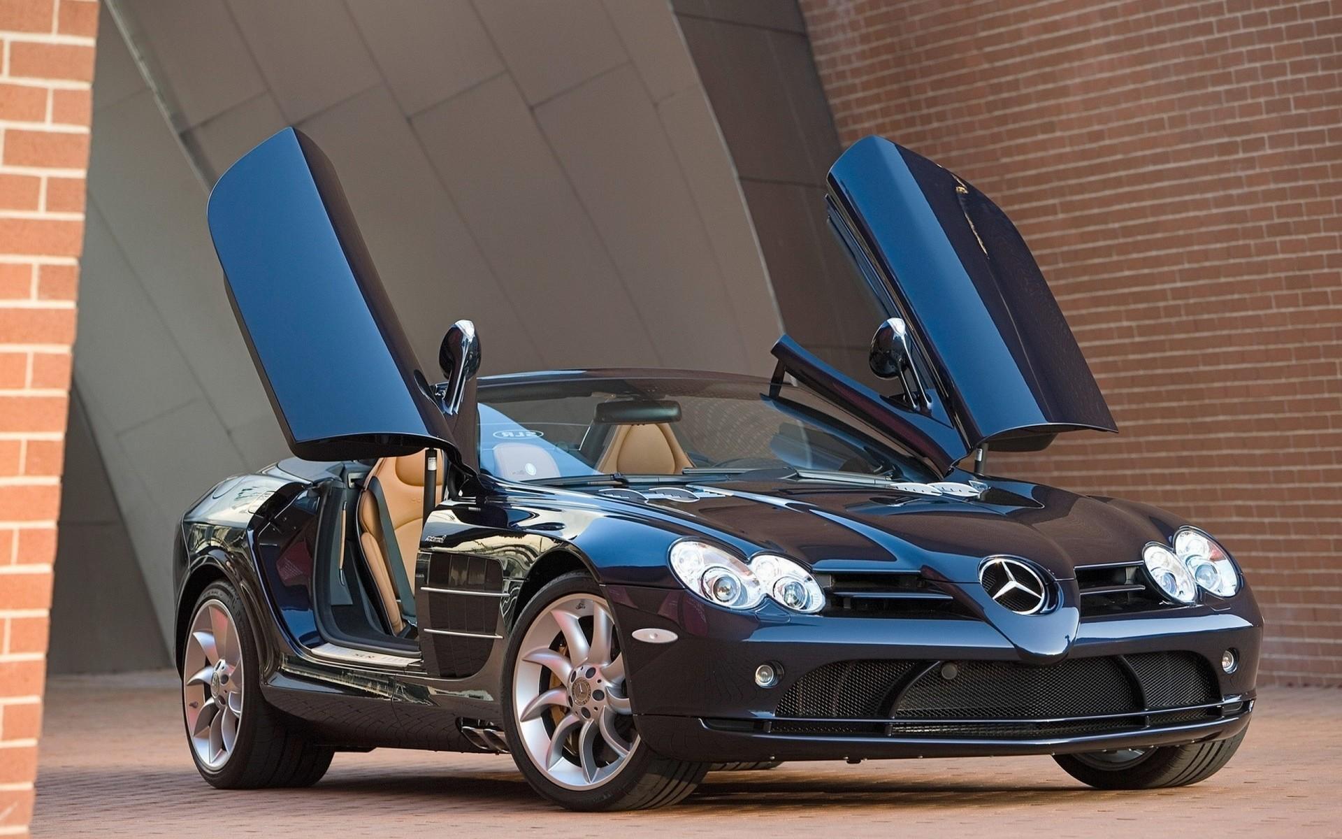 Wallpaper Mercedes Benz Sports Car Performance Car Wheel