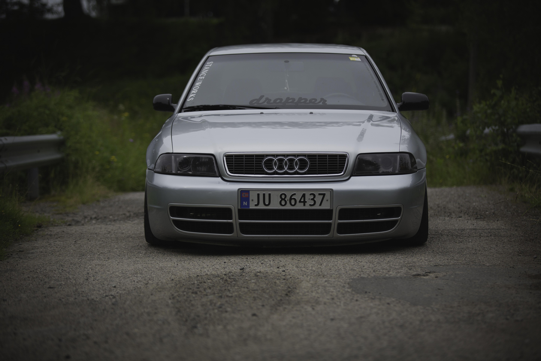 Fondos De Pantalla Coche Noruega Obras Postura Audi A4