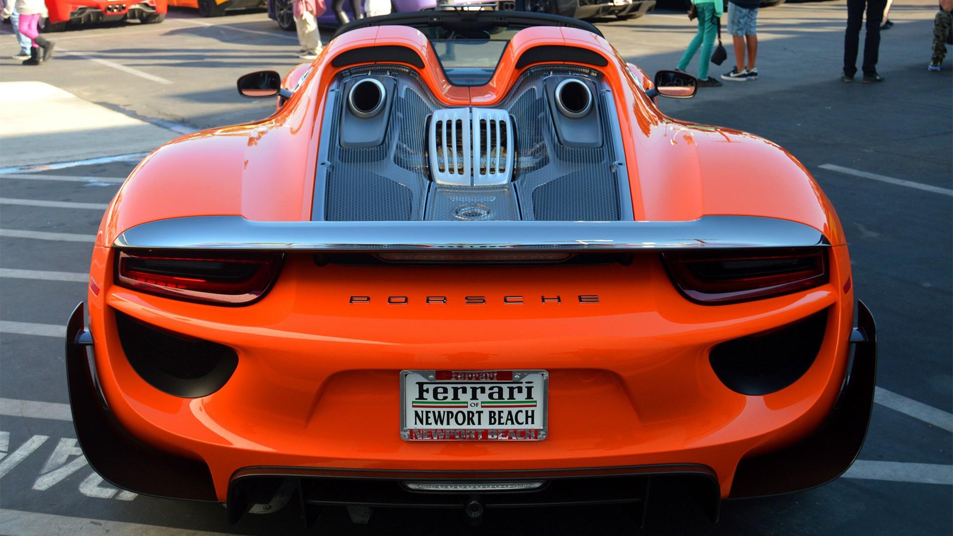 car-vehicle-Porsche-orange-sports-car-performance-car-Porsche-918-Spyder-supercar-1920x1080-px-land-vehicle-automotive-design-automobile-make-535495 Interesting Hinh Anh Xe Porsche 918 Spyder Cars Trend