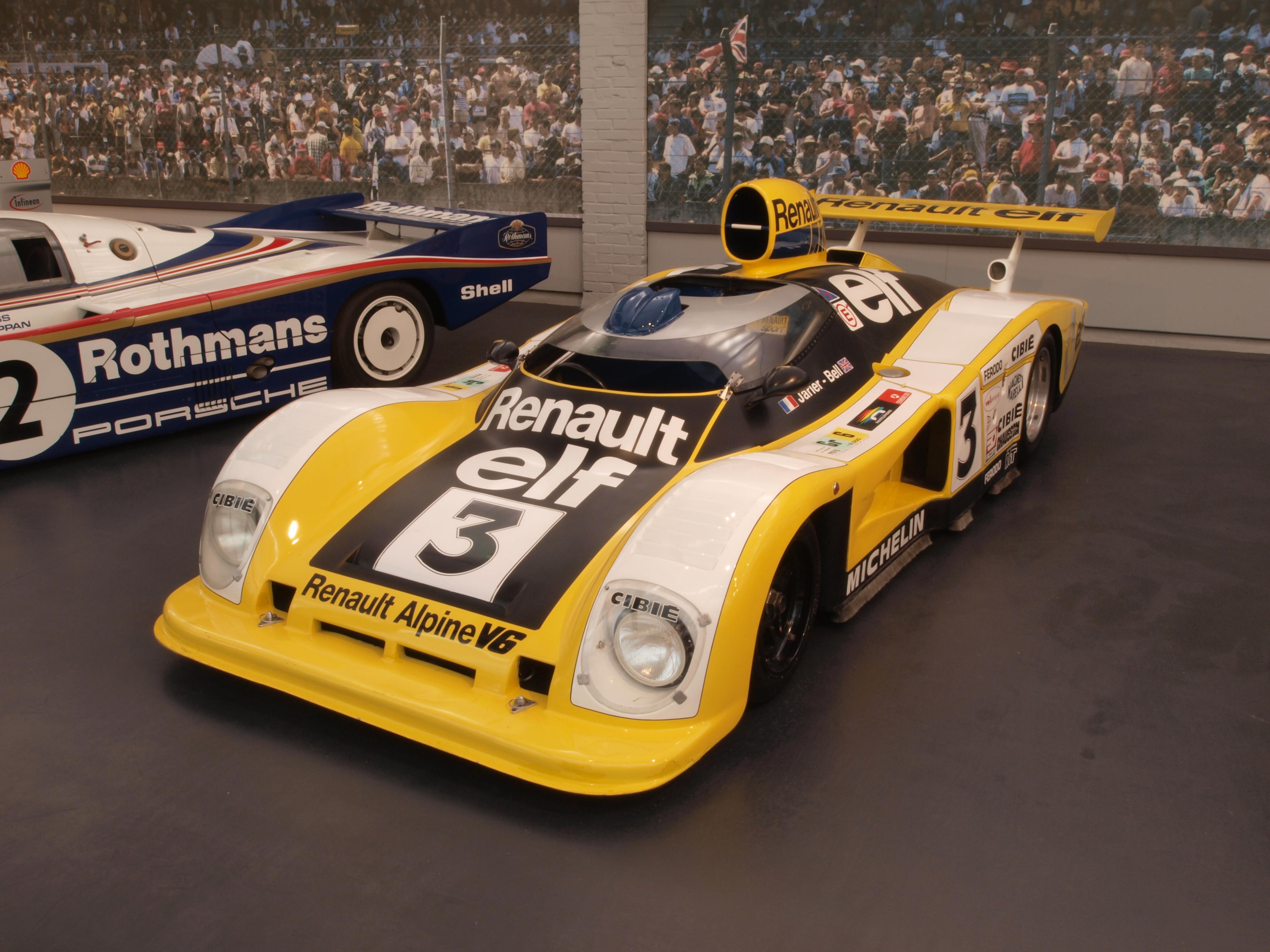 Fond Décran Véhicule Voiture De Sport Porsche 962 1985