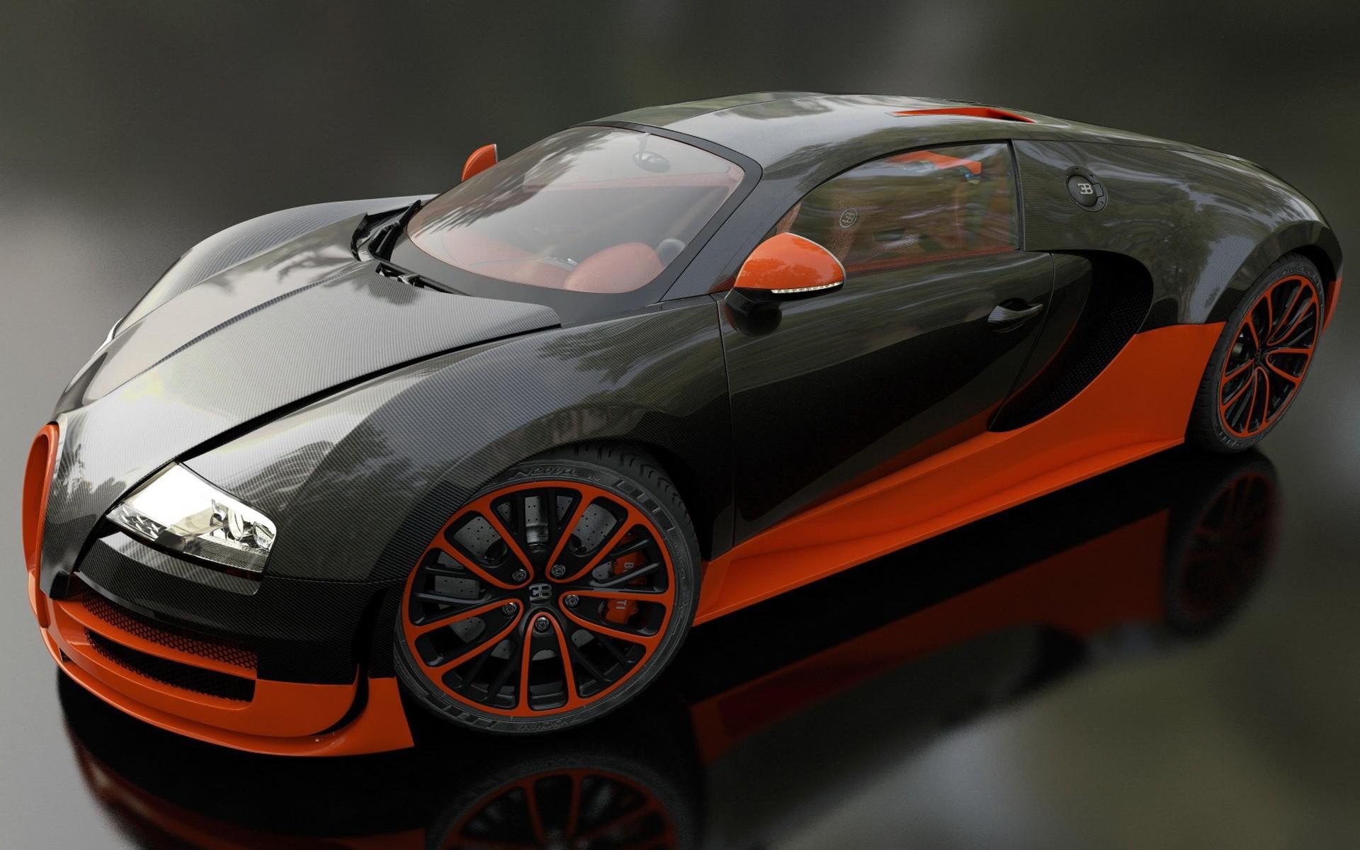 Wallpaper Super Car Sports Car Bugatti Veyron Bugatti Veyron