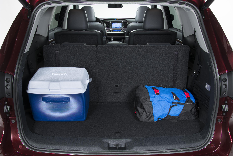 Toyota Highlander 2014 багажник