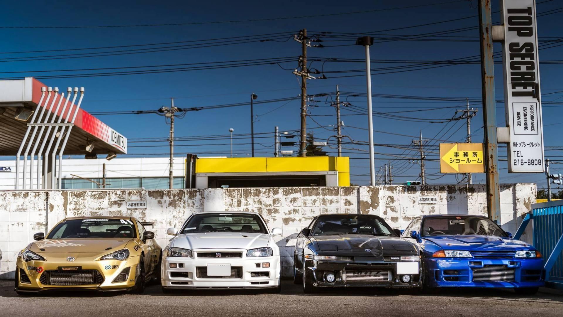 Wallpaper : JDM, Sports Car, Nissan Skyline GT R R34, Toyota Supra, Toyota  Supra MK3, Nissan GT R R32, Toyota GT 86, Nissan Skyline GT R R 32,  Supercar, ...