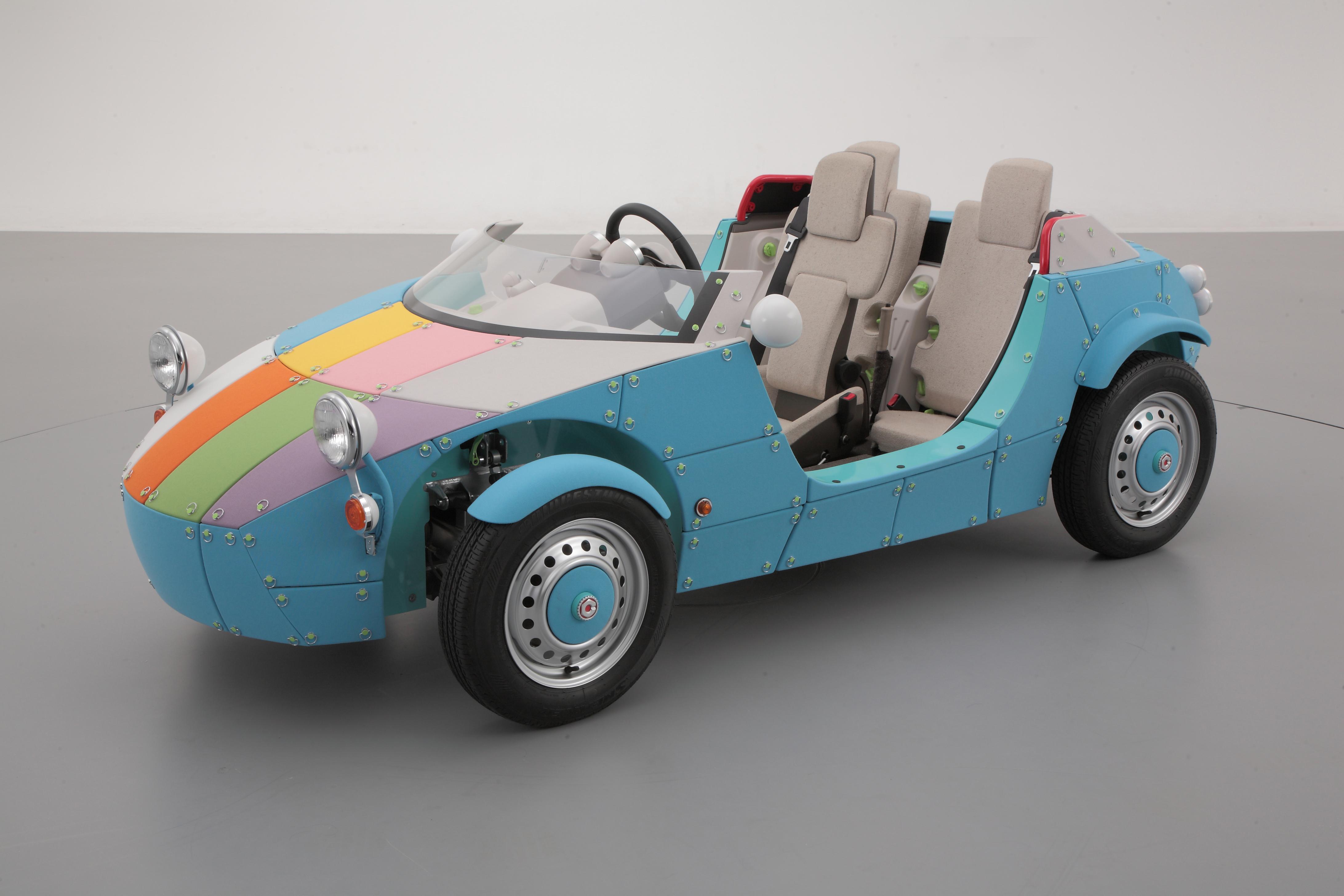 Как сделать машину настоящую для детей