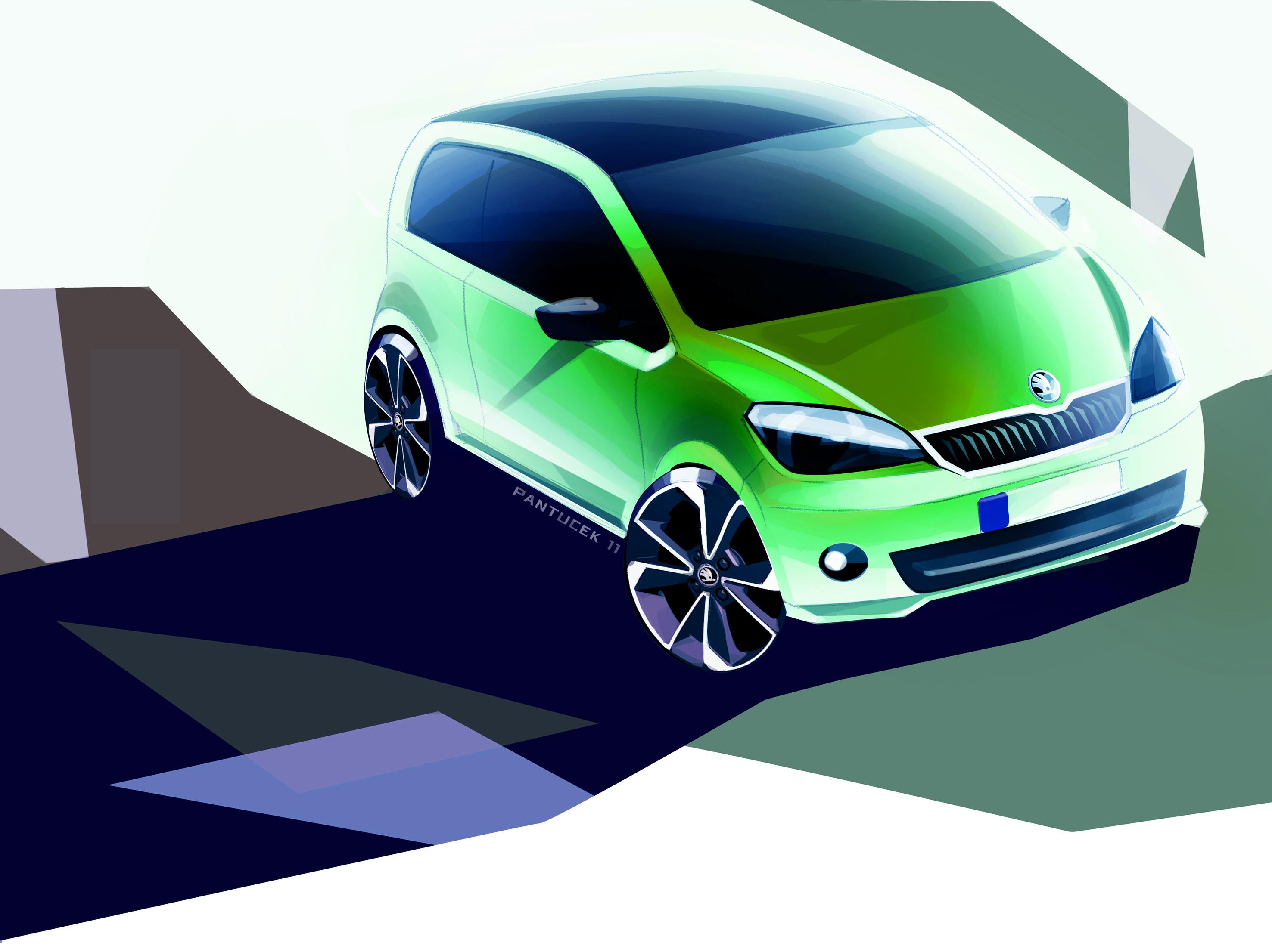 Baggrunde k ret j 2013 volkswagen up skoda for Automotive exterior design jobs