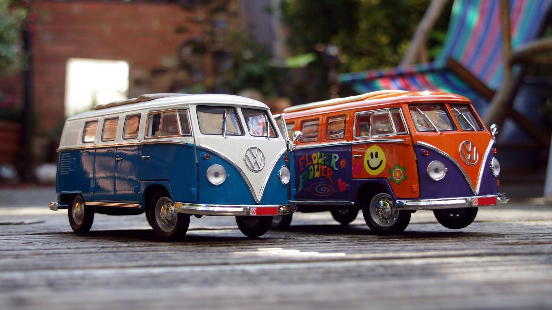 Fondos De Pantalla Coche Vehículo Volkswagen Combi