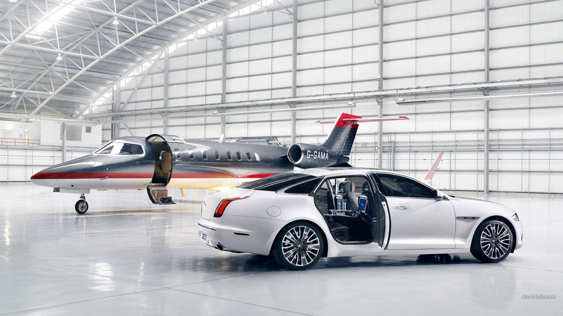 Wallpaper Aircraft Jaguar Car Jet Fighter Sedan Jaguar Xj