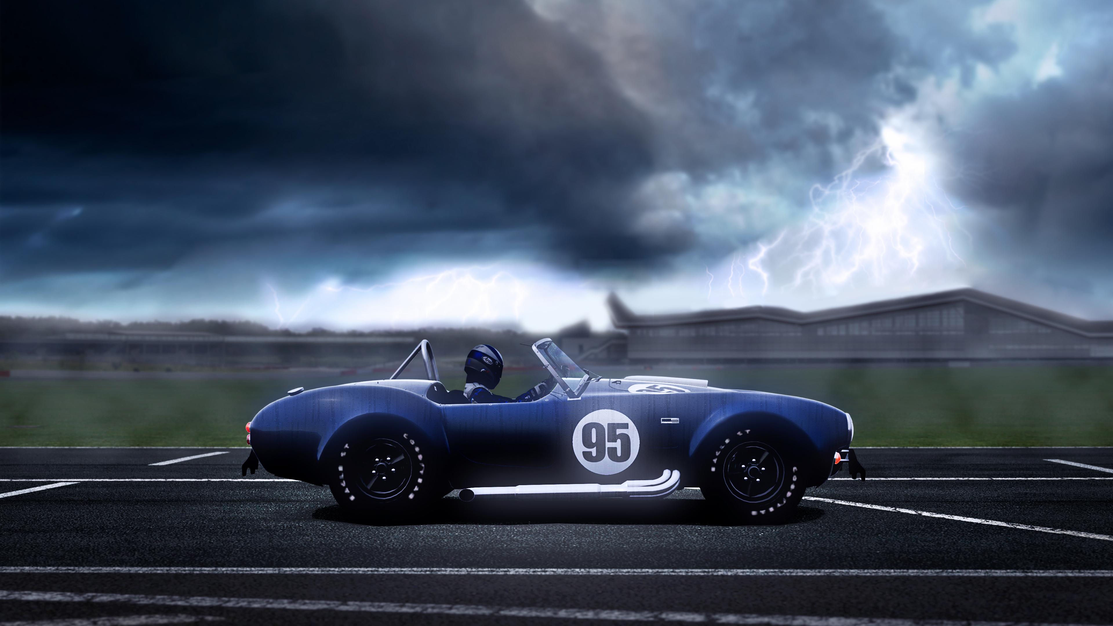 Wallpaper Vehicle Clouds Storm Sports Car Classic Car
