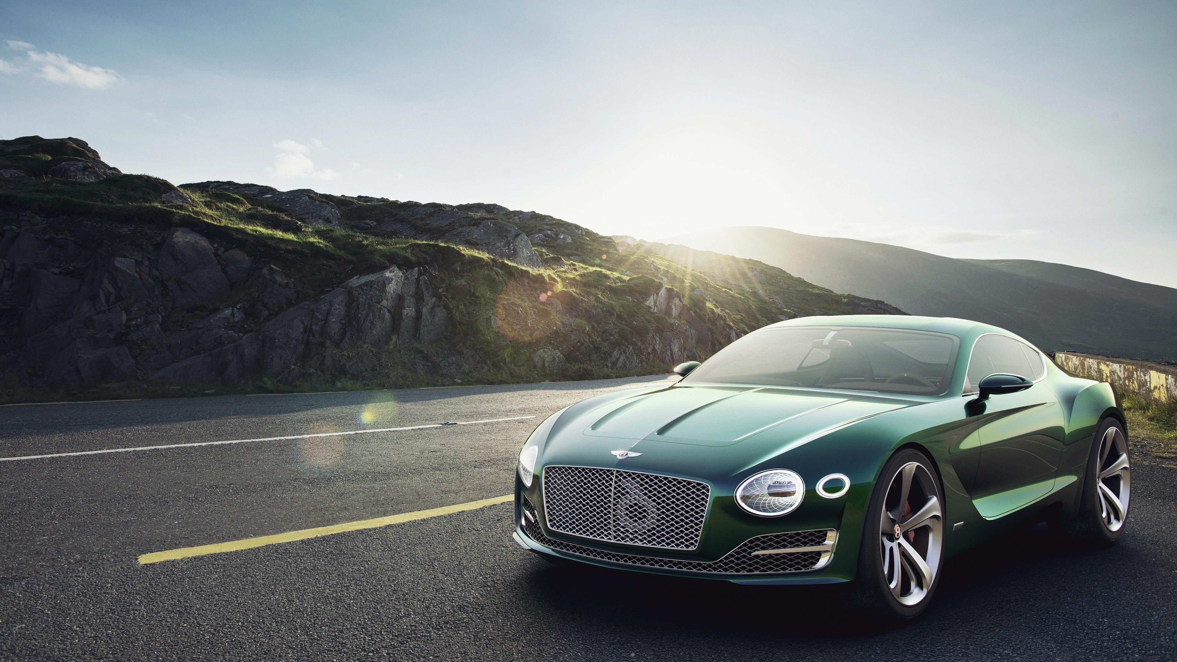 Wallpaper : green, sports car, 2015, Bentley, Maserati, performance ...