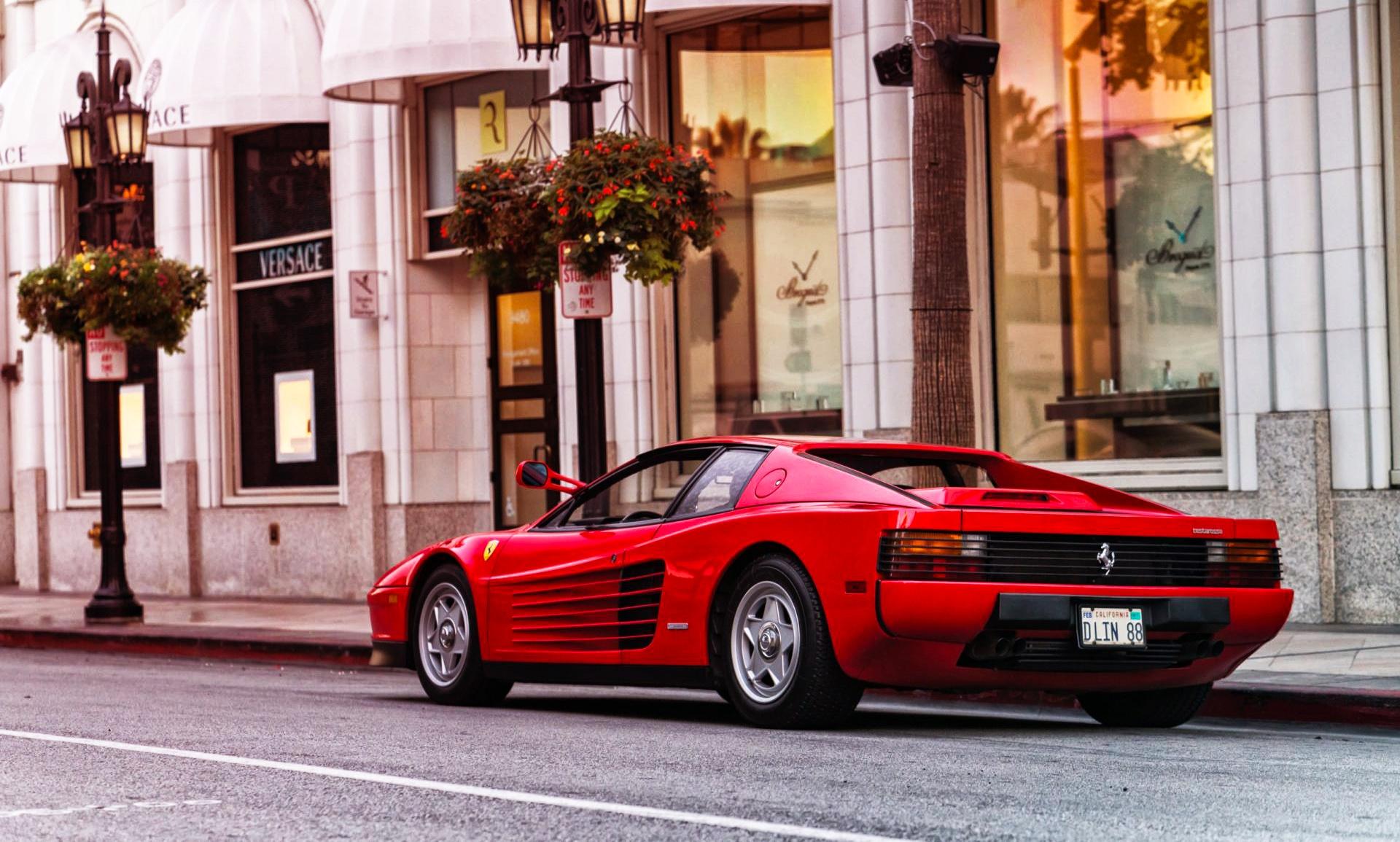Wallpaper Car Vehicle Red Cars Ferrari Testarossa 1920x1155 Wallpapermaniac 1469893 Hd Wallpapers Wallhere