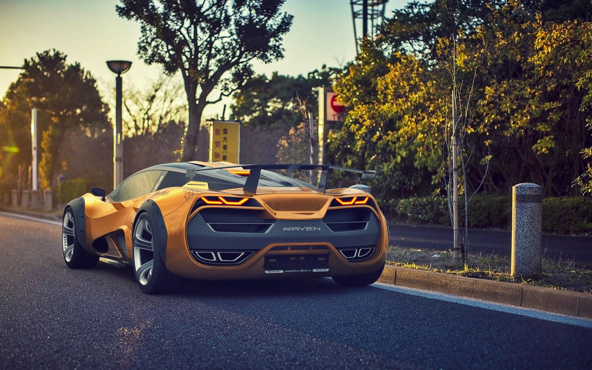 Wallpaper Road Lamborghini Aventador Sports Car Performance Car