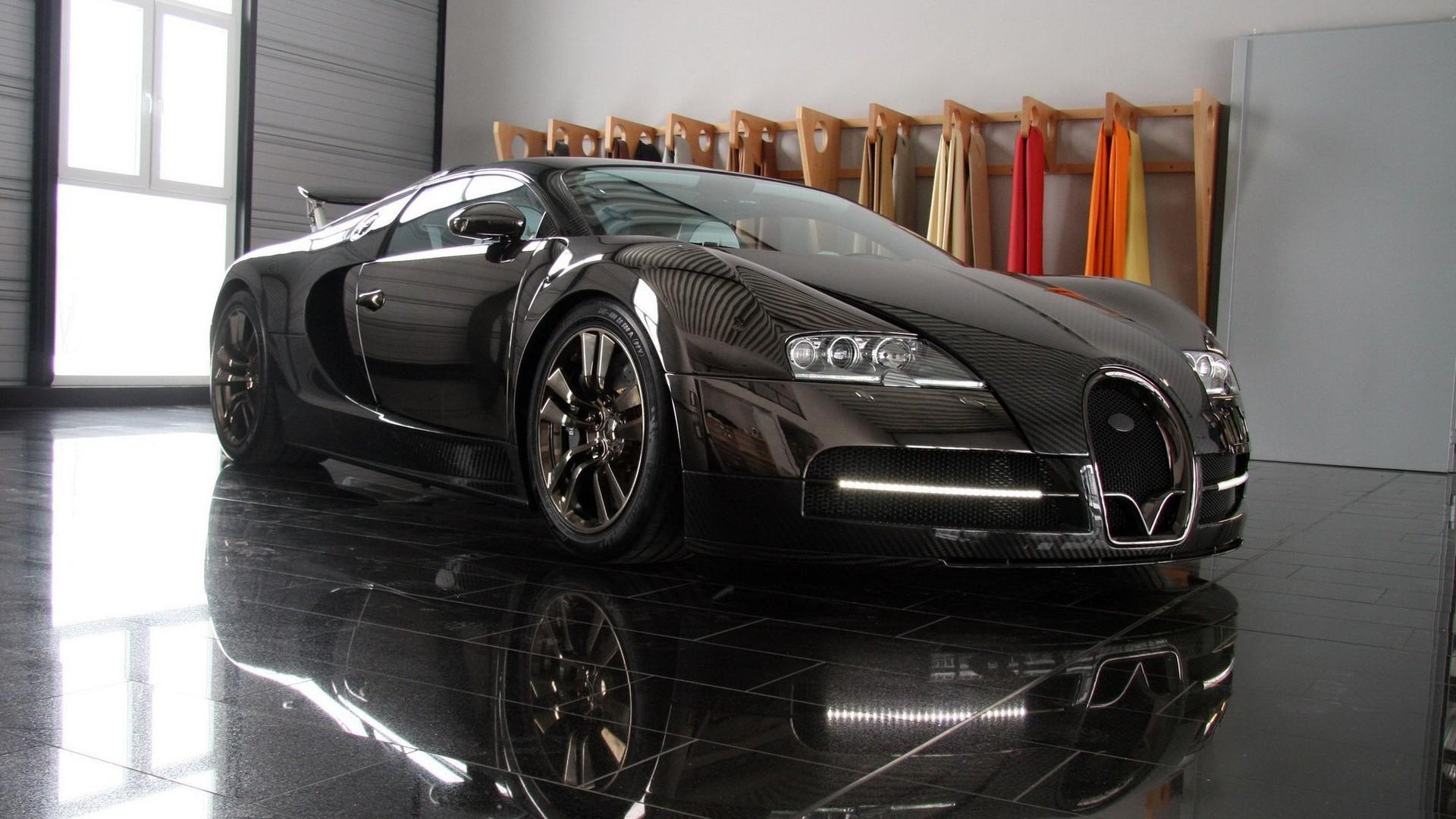 Wallpaper Sports Car Bugatti Veyron Performance Car