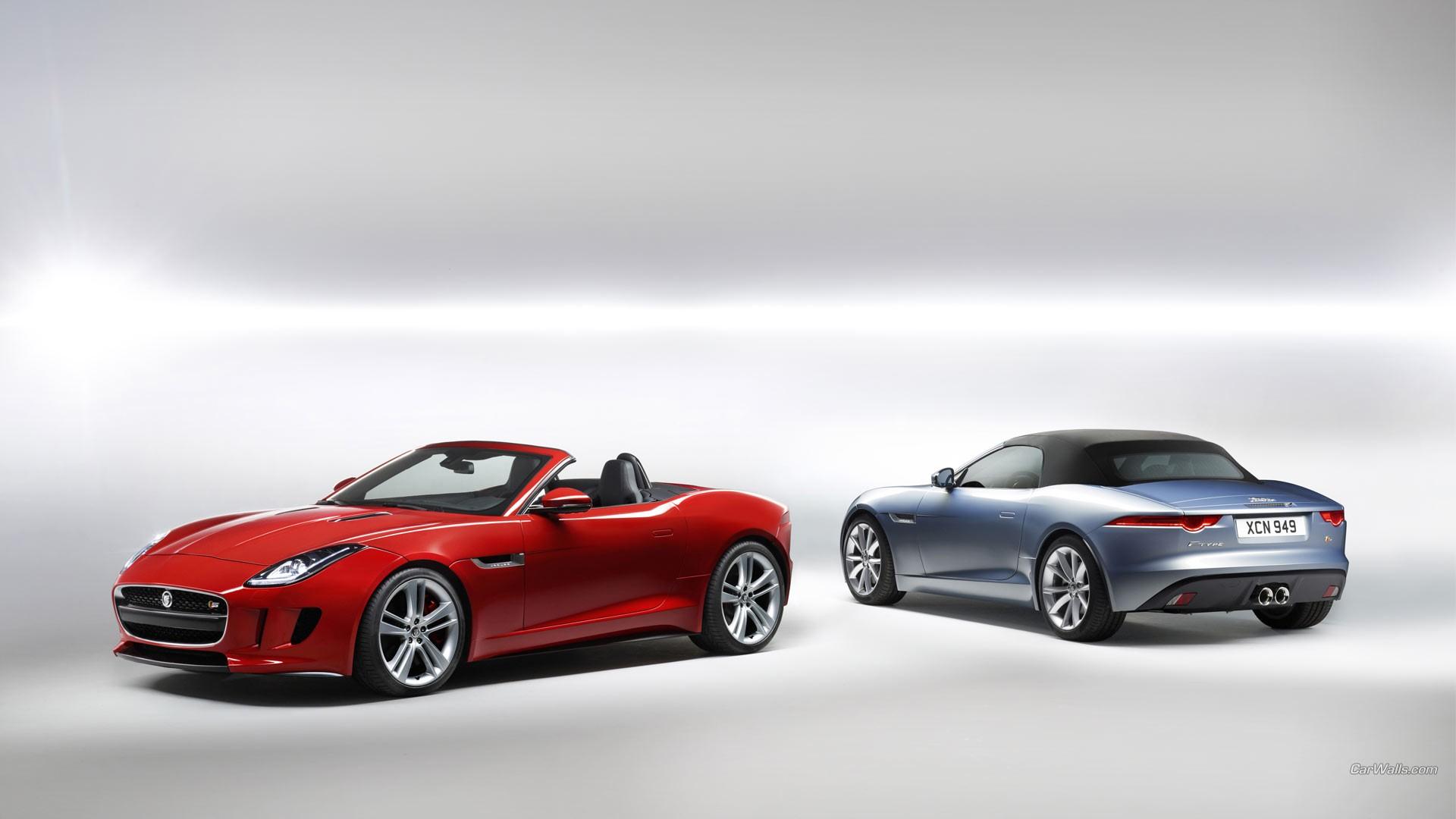 Wallpaper Sports Car Convertible Performance Car Jaguar